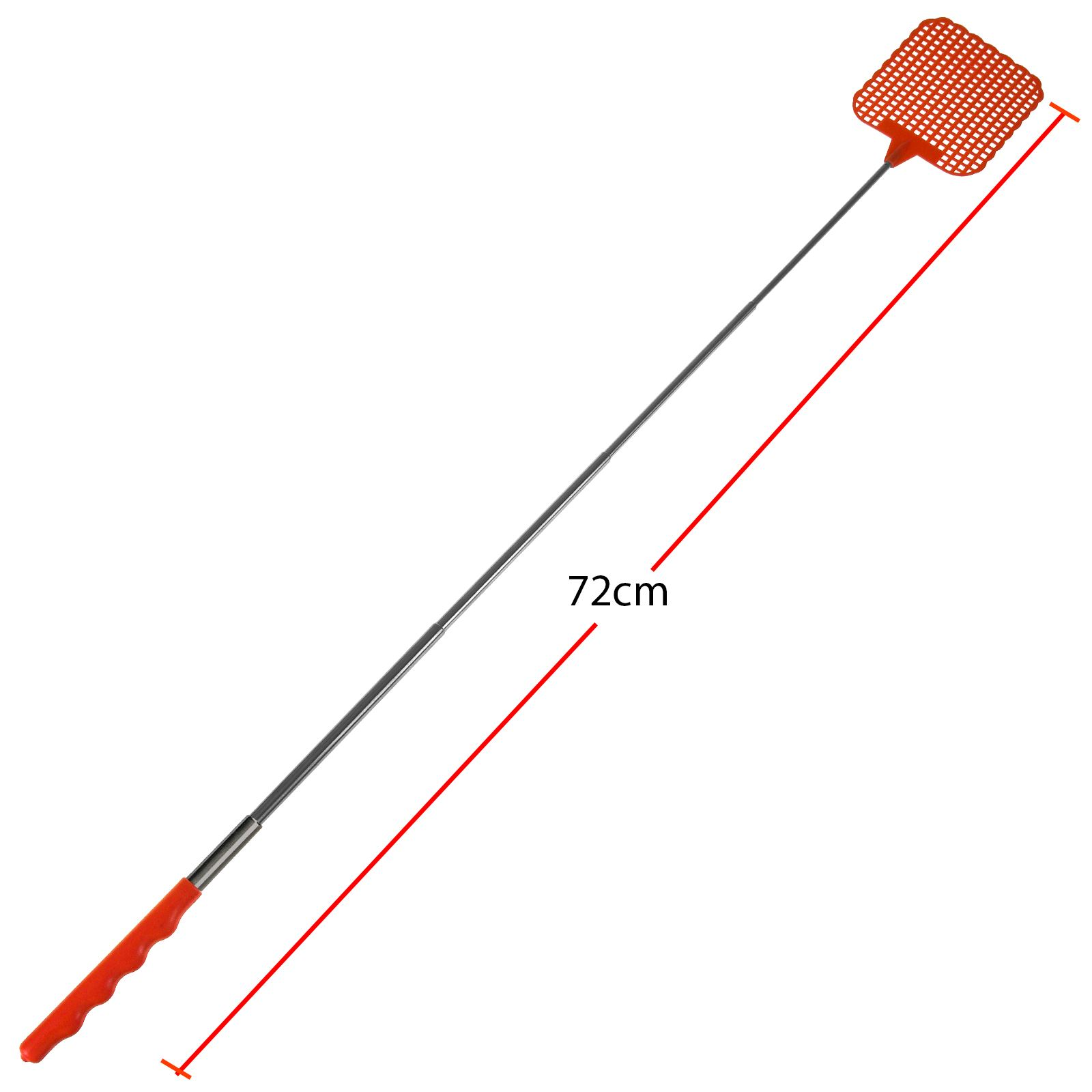 Telescopic Fly Swatter Extendible Insect Killer Wasp Mosquito Bug Zapper Circuit