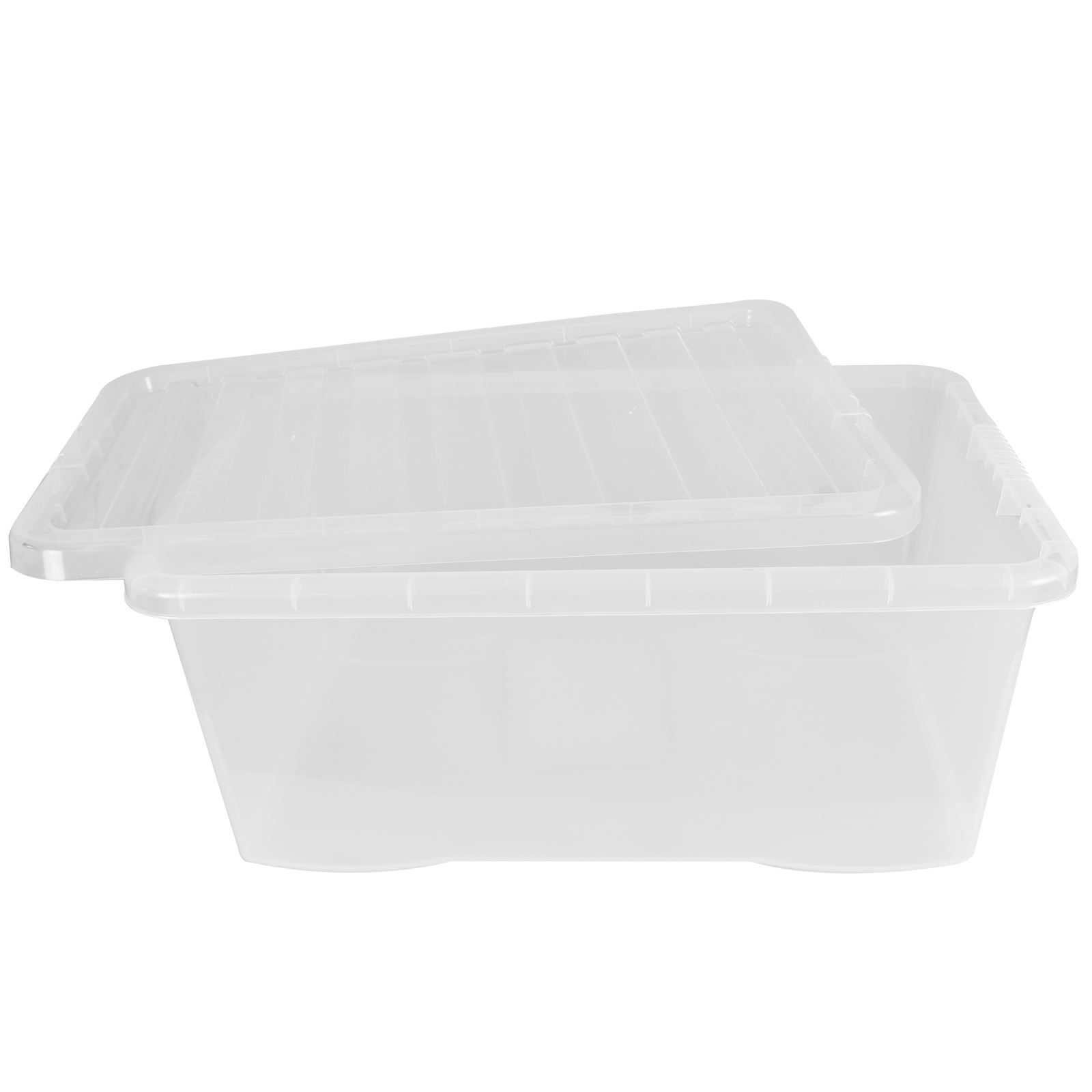 Wham-Crystal-Clear-Plastic-Storage-Box-Secure-Clip-on-Lid-Under-Bed-Space-Save thumbnail 37
