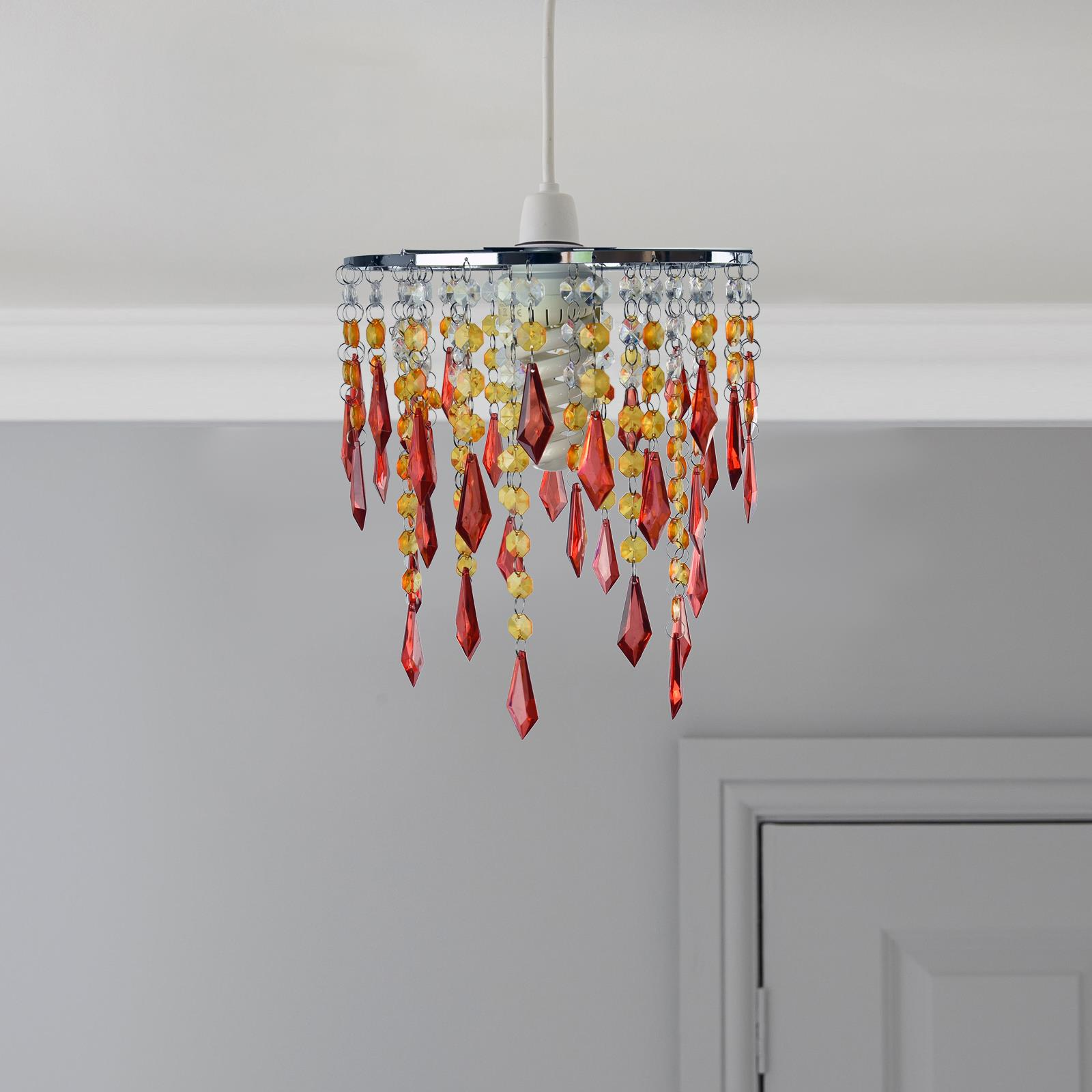 Modern-Chandelier-Style-Ceiling-Light-Lamp-Shade-Drop-Pendant-Acrylic-Crystal thumbnail 44