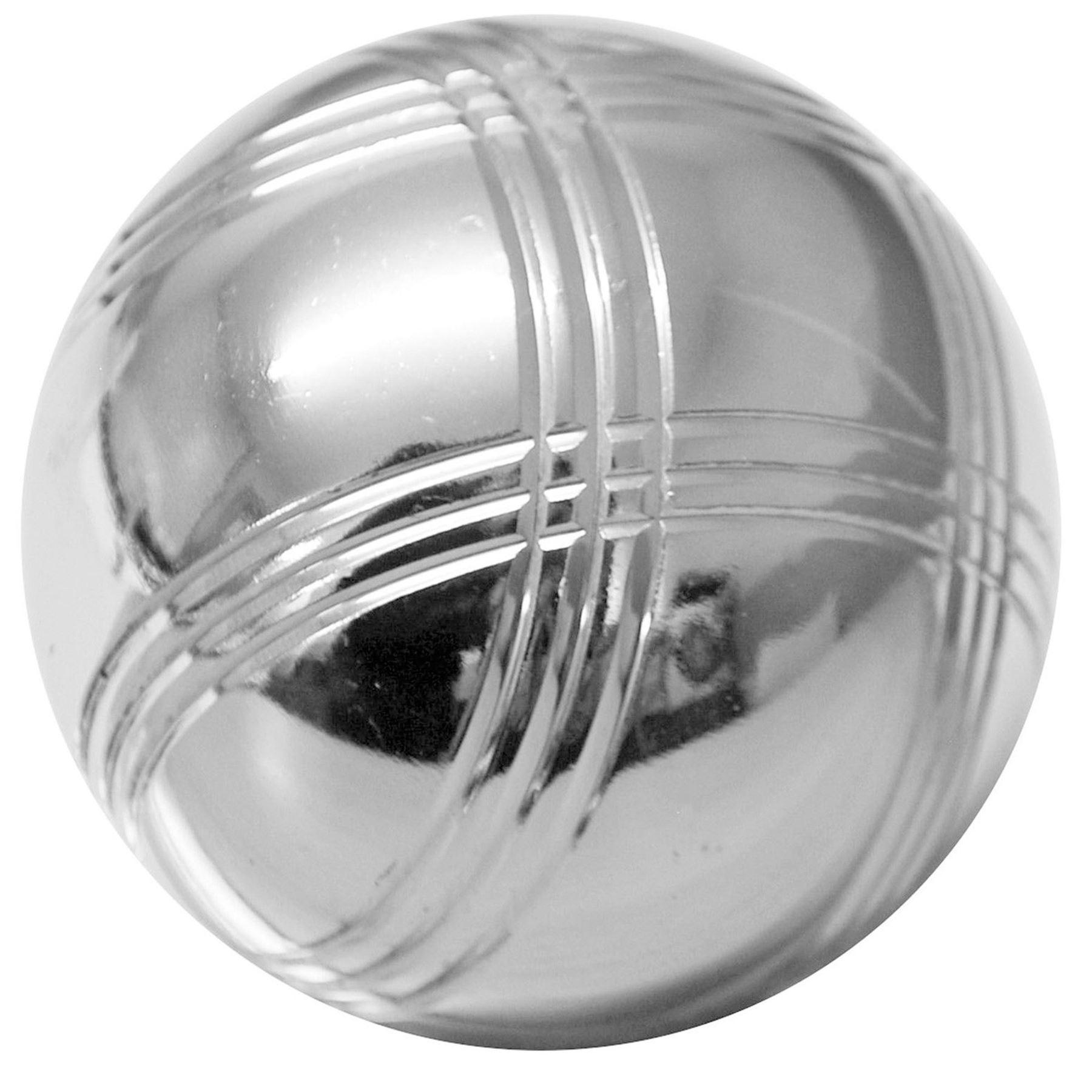 steel french boules 8 petanque metal balls complete garden game set outdoor new ebay. Black Bedroom Furniture Sets. Home Design Ideas