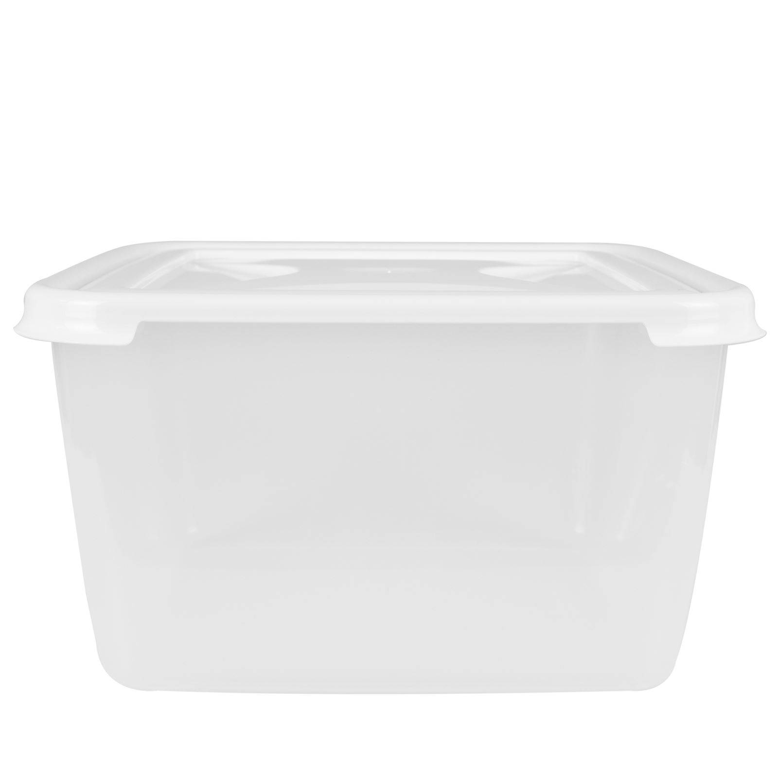 Wham-Plastic-Food-Storage-Shelf-Box-Stackable-Containers-Clear-Secure-Clip-Lid thumbnail 10