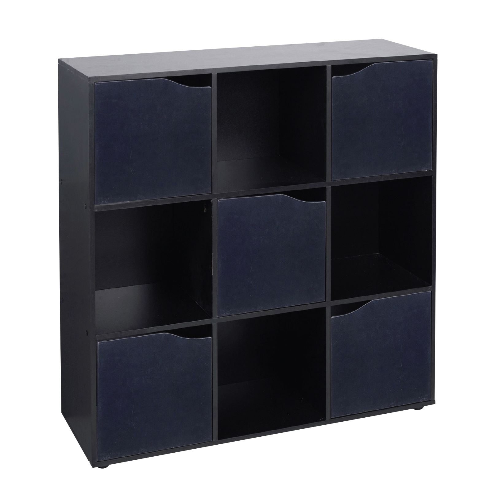 4 6 9 Cube Wooden Storage Unit Bookcase Shelving Display