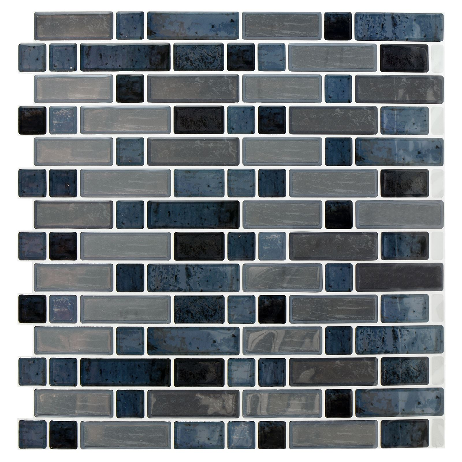 Self-Adhesive Mosaic Tile Stickers Bathroom Kitchen Transfers ...