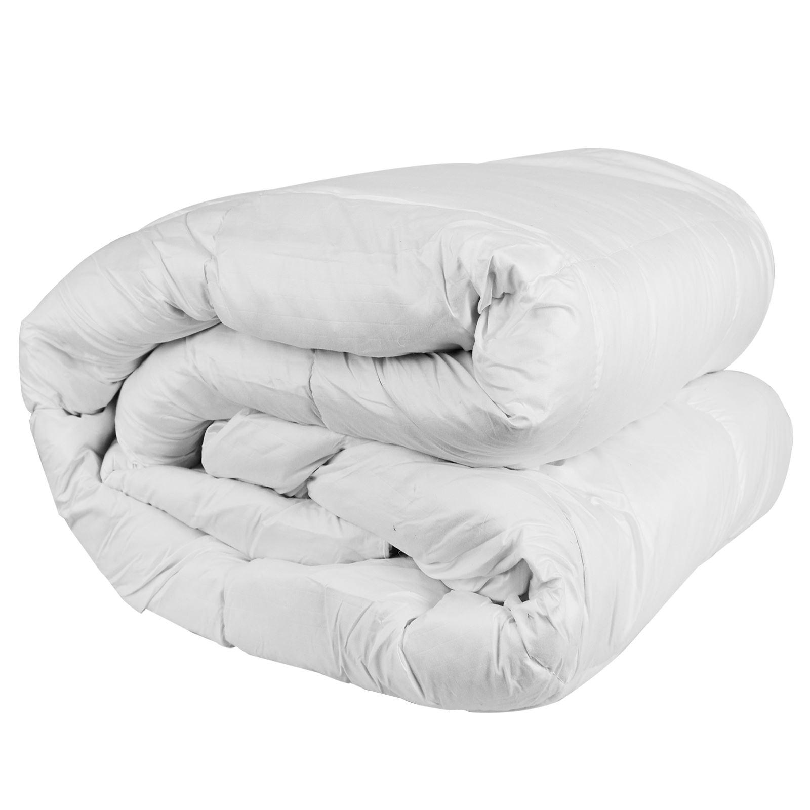 Lujo-Pluma-De-Pato-Abajo-Edredon-Ropa-De-Cama-Edredon-relleno-confortable-13-5-15-Tog miniatura 5