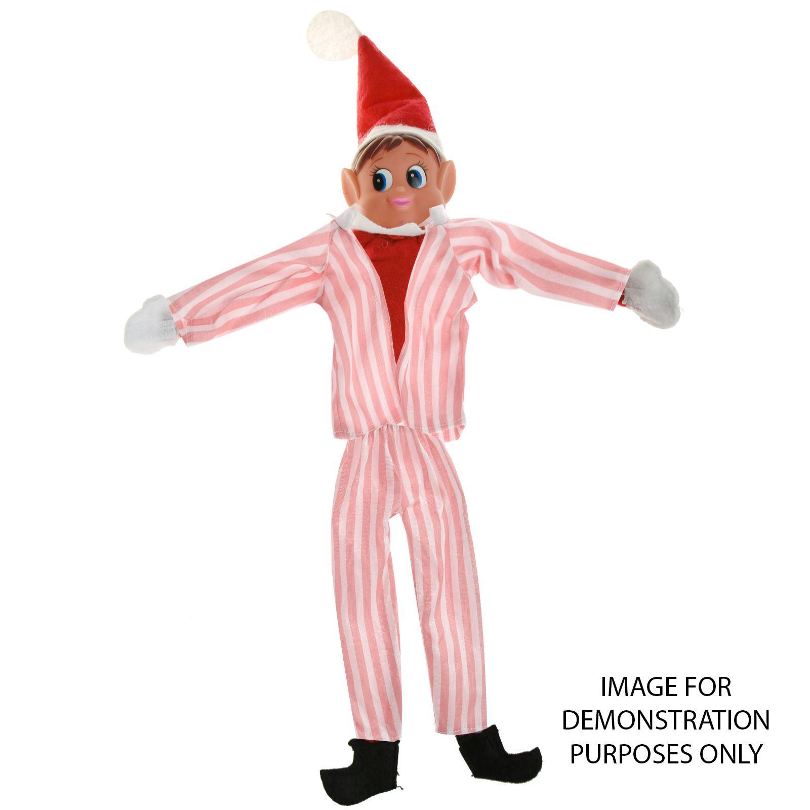 Naughty-ELF-Pigiama-Elfi-latitanti-034-Male-Blu-Rosa-Natale-Novita-Natale-Prop miniatura 4