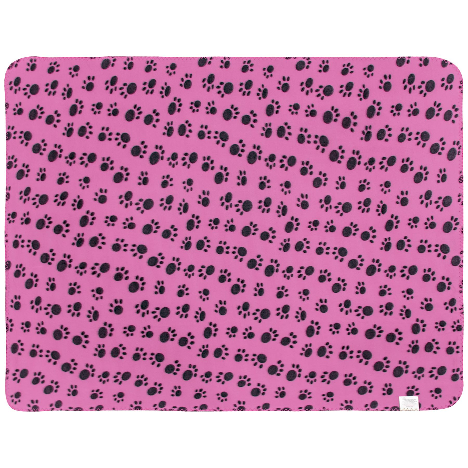Pet-Blanket-Dogs-amp-Puppy-Cat-Paw-Print-Soft-Warm-Fleece-Bed-Travel-Basket-Car thumbnail 26