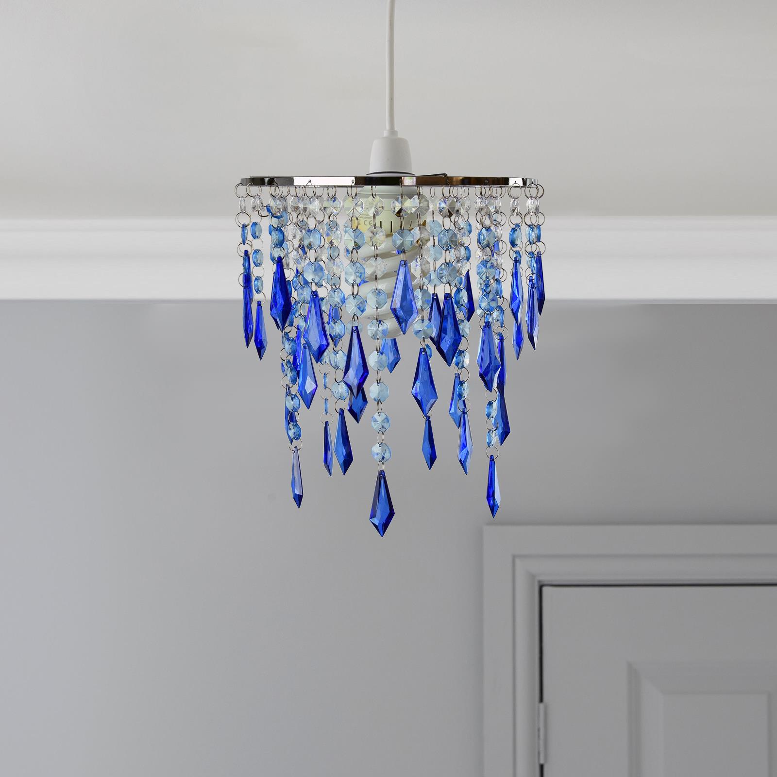 Modern-Chandelier-Style-Ceiling-Light-Lamp-Shade-Drop-Pendant-Acrylic-Crystal thumbnail 25