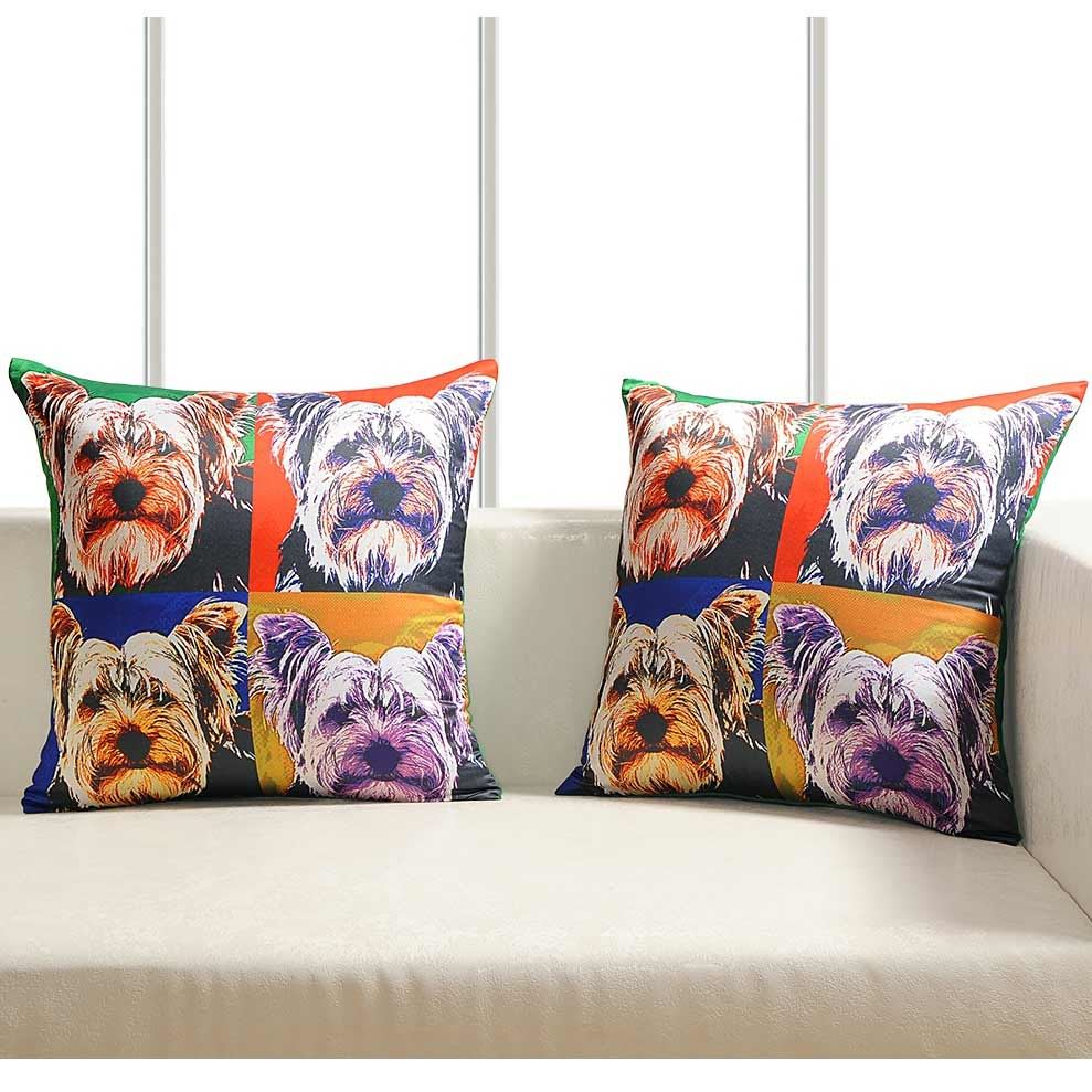 Luxury-Cushion-Covers-Retro-Pop-Art-Design-Digital-Printed-Square-Pillow-Case thumbnail 12