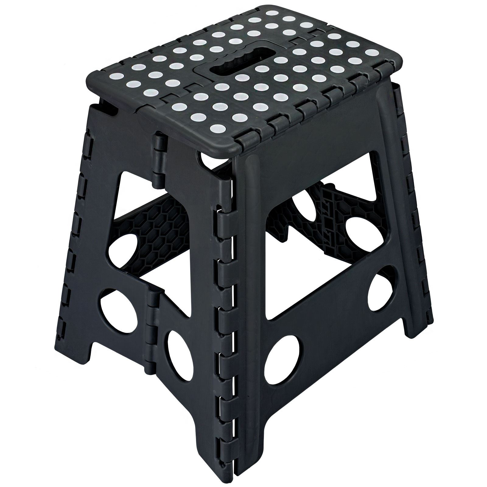 Folding Foot Step Stool Multi Purpose Plastic Home Kitchen
