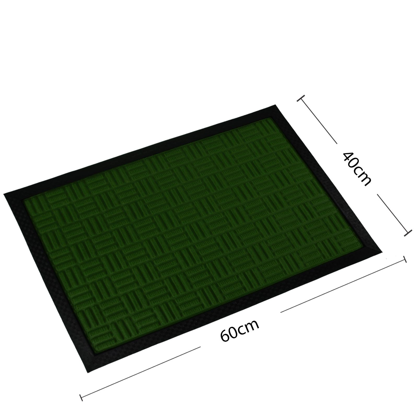 Rubber Welcome Door Entrance Mat Indoor Outdoor Non Slip