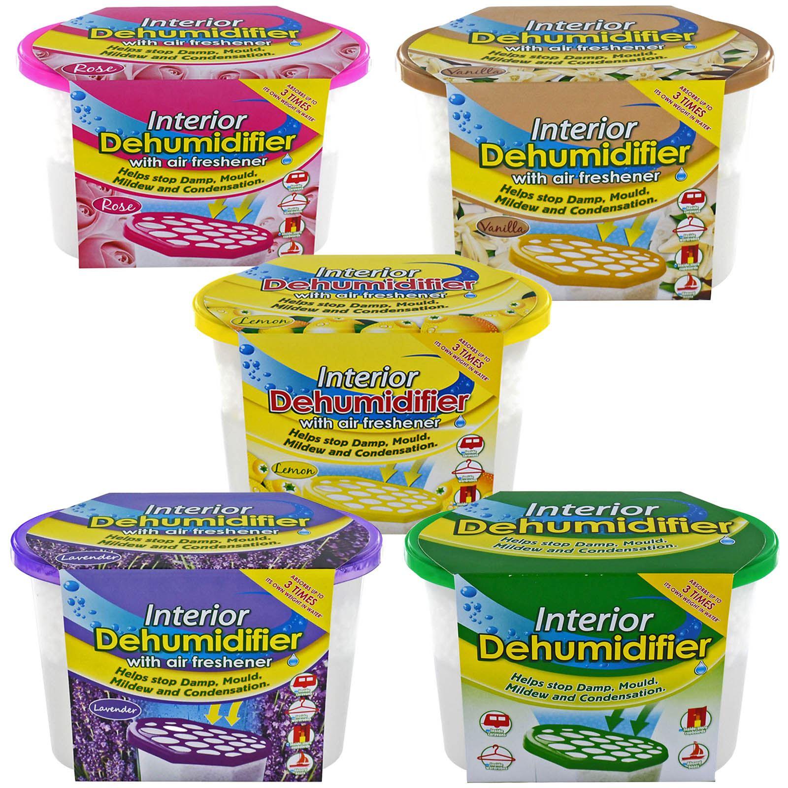 Interior Dehumidifier Air Freshener Moisture Damp Mould Mildew Condensation