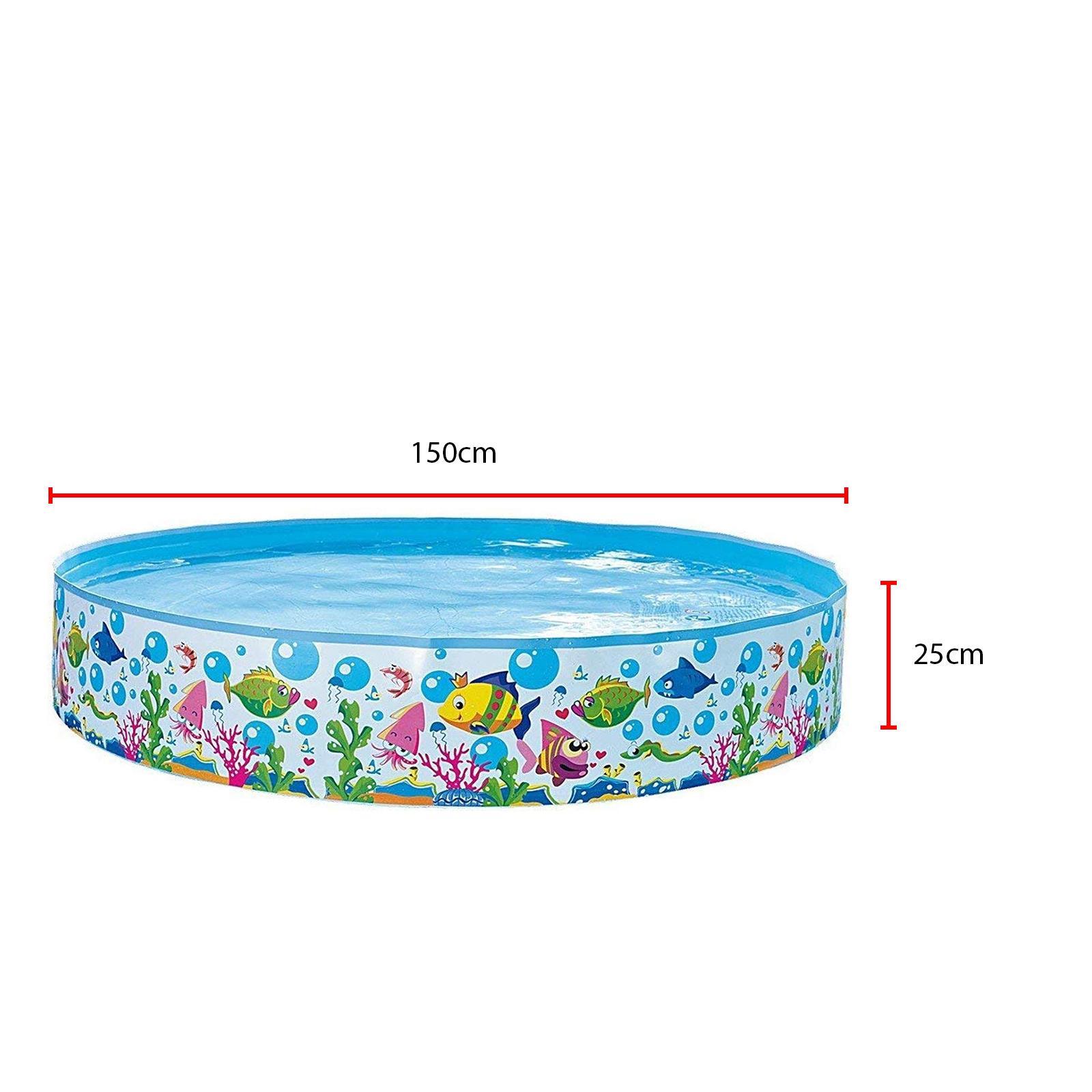 Centro-De-Juegos-De-Natacion-Ninos-Ridgid-Pared-piscina-infantil-Mar-Vida-al-Aire-Libre-diversion miniatura 11
