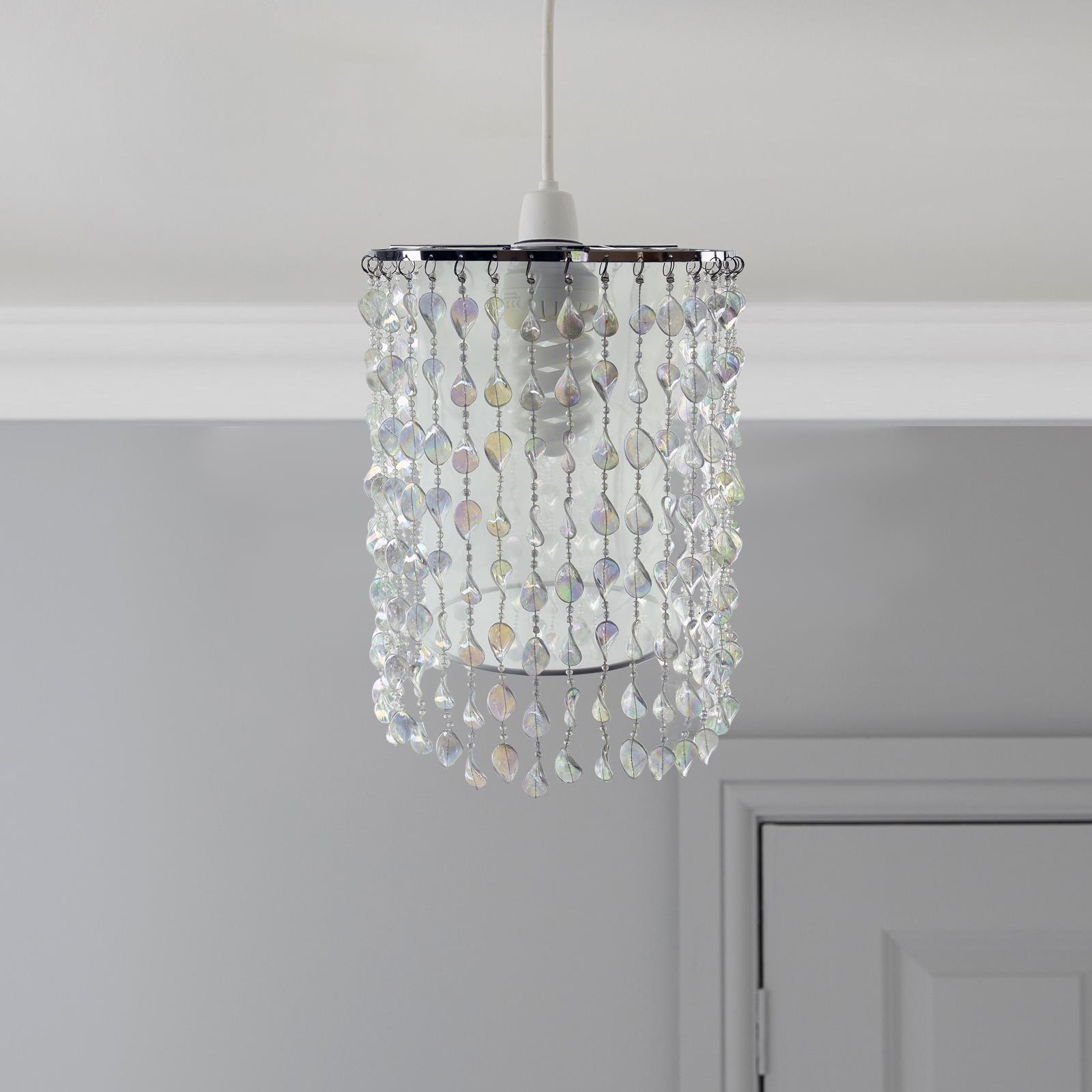 Modern-Chandelier-Style-Ceiling-Light-Lamp-Shade-Drop-Pendant-Acrylic-Crystal thumbnail 38