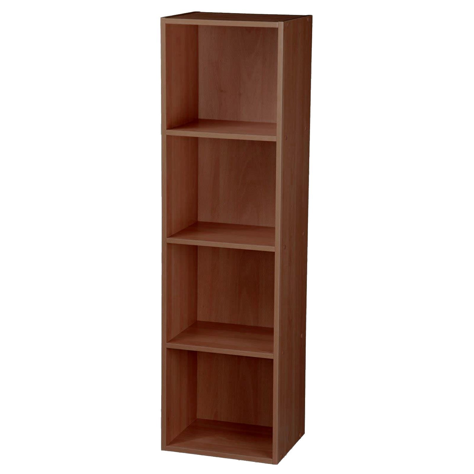 Wooden-Storage-Unit-Cube-2-3-4-Tier-Strong-Bookcase-Shelving-Home-Office-Display thumbnail 21