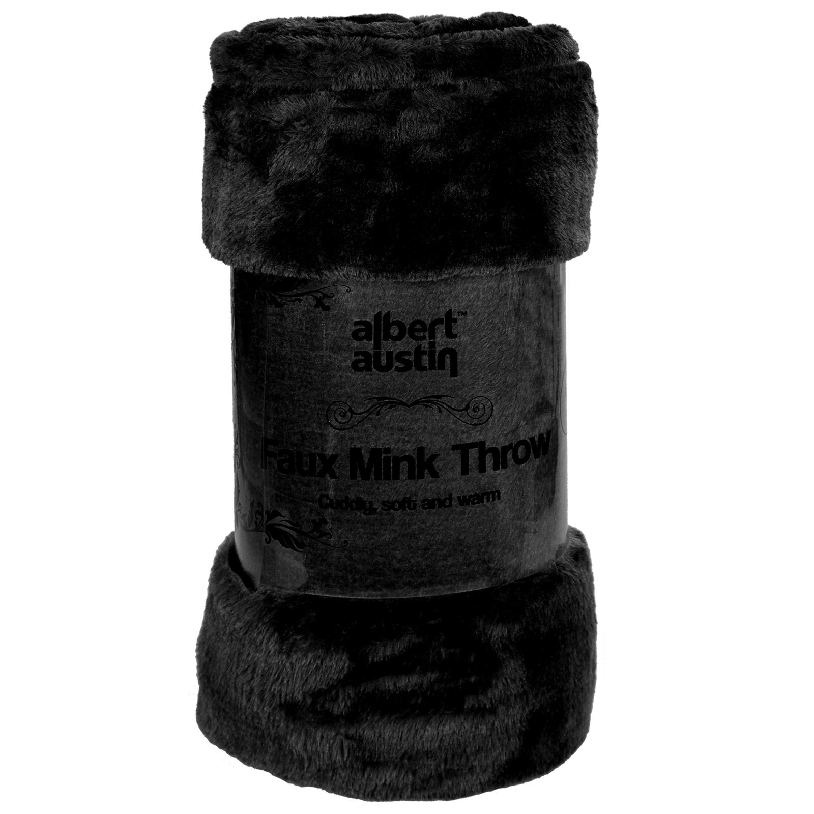 Luxury Large Throw Blanket Faux Fur Super Soft Plush Sofa