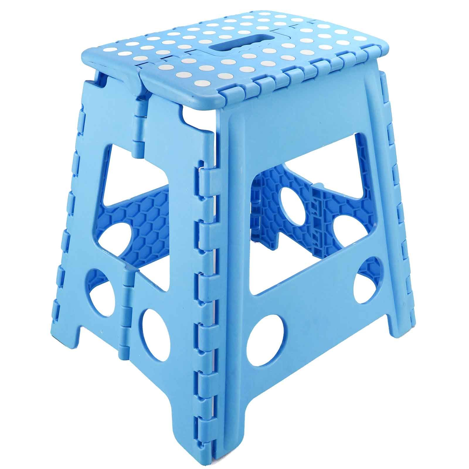 Folding Foot Step Stool Multi Purpose Plastic Foldable