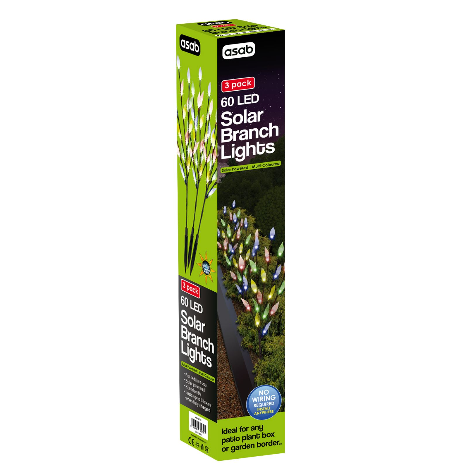 60-LED-Branch-Leaf-Tree-Solar-Power-Lights-Outdoor-Garden-Path-Patio-Borders thumbnail 4