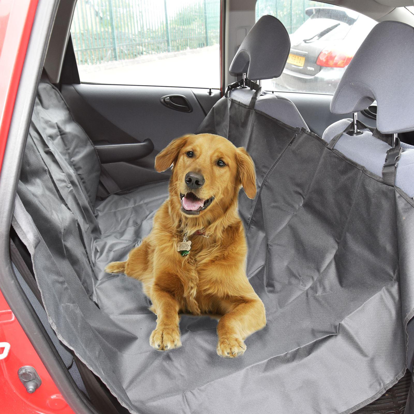 Etanche-Voiture-Arriere-Siege-arriere-couverture-animal-de-compagnie-chien-protecteur-Heavy-Duty