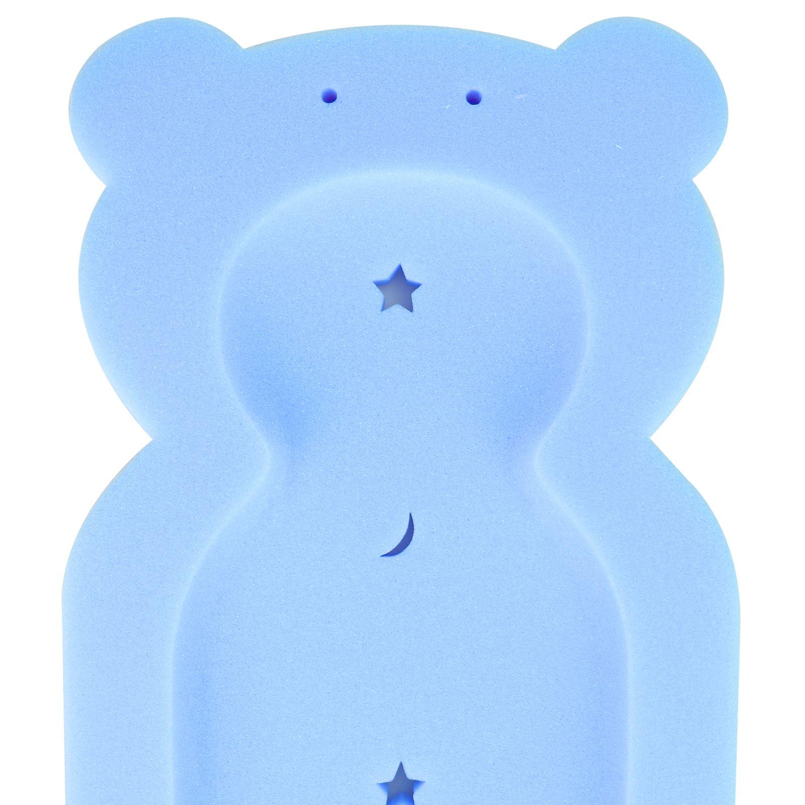 Baby Teddy Bear Bath Sponge Support Foam Mat Toddler From Newborn 0 ...