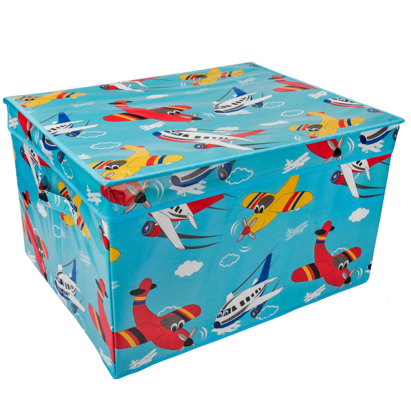 Bon Large Kids Storage Box Childrens Toy Chest Clothes
