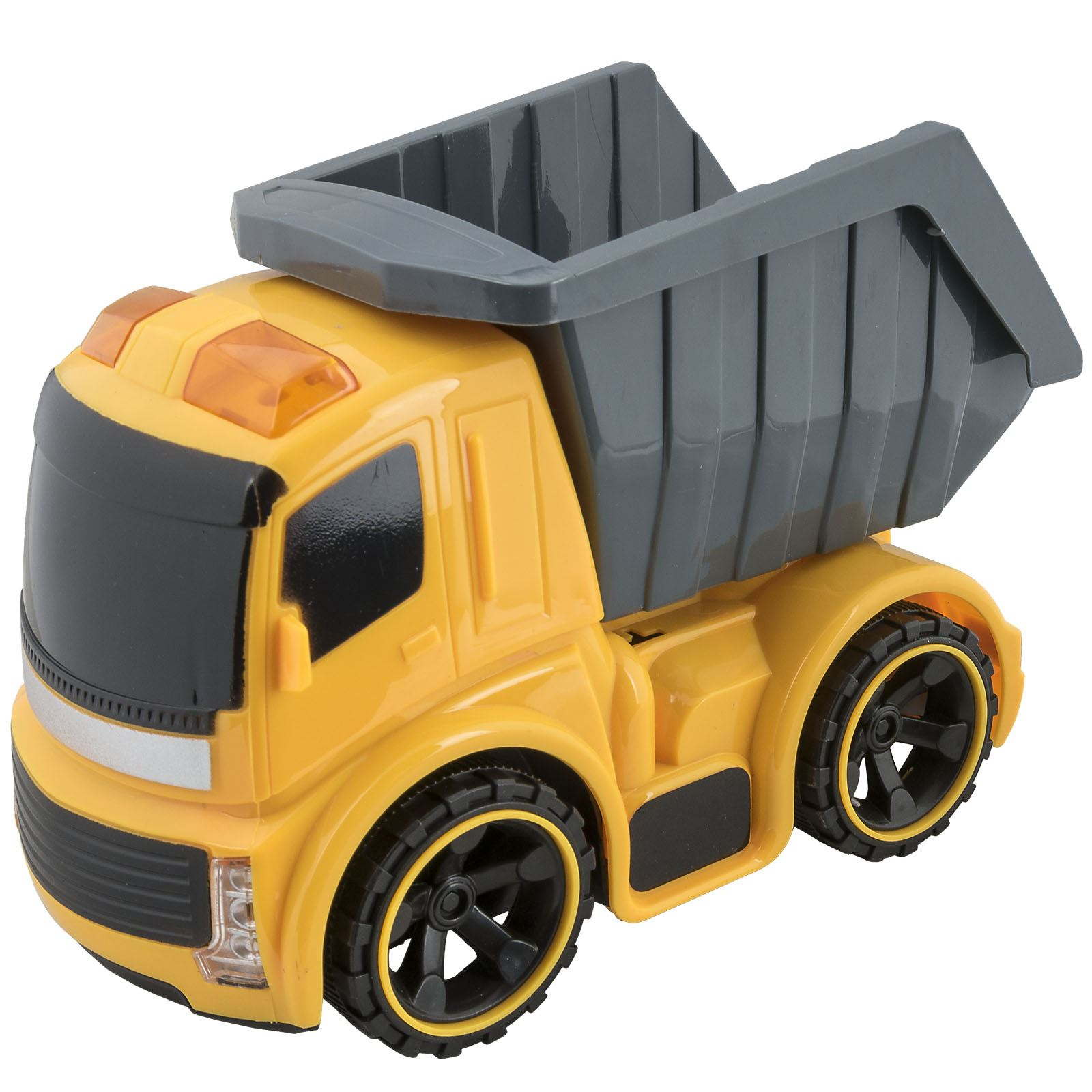 kids friction powered construction toy truck vehicle dump tipper