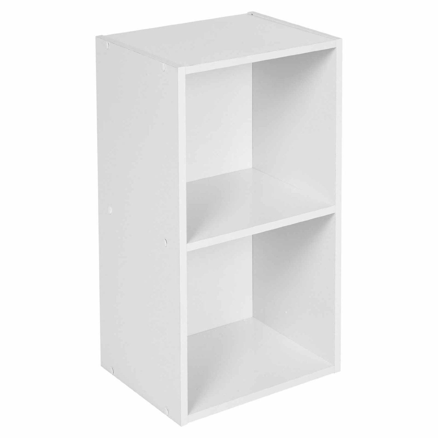 Wooden-Storage-Unit-Cube-2-3-4-Tier-Strong-Bookcase-Shelving-Home-Office-Display thumbnail 3