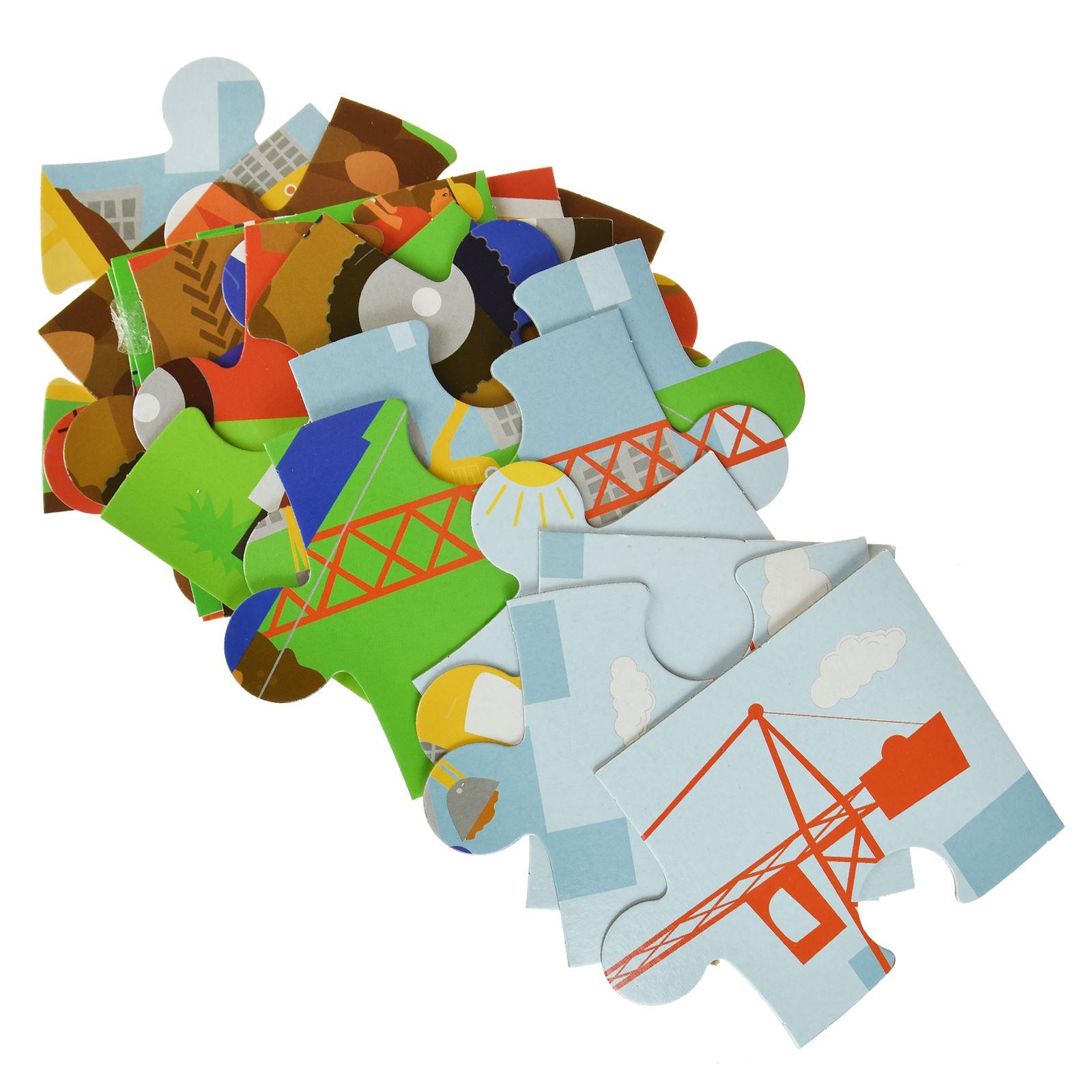 16pc-Mon-Premier-Puzzle-Enfants-educatif-Problem-Solving-jeu-jouet miniature 3