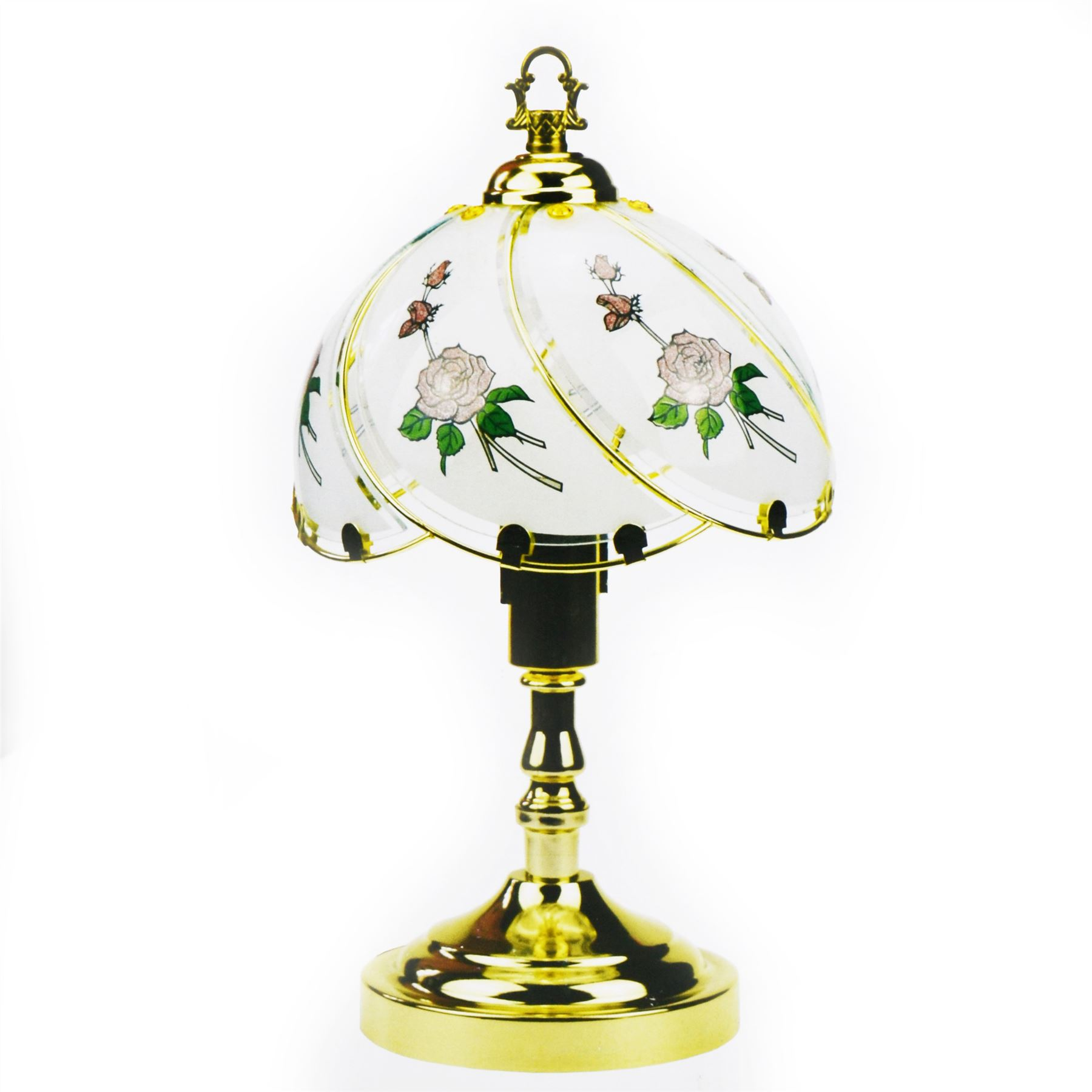 Vintage Style Table Touch Control Lamp Bedroom Desktop