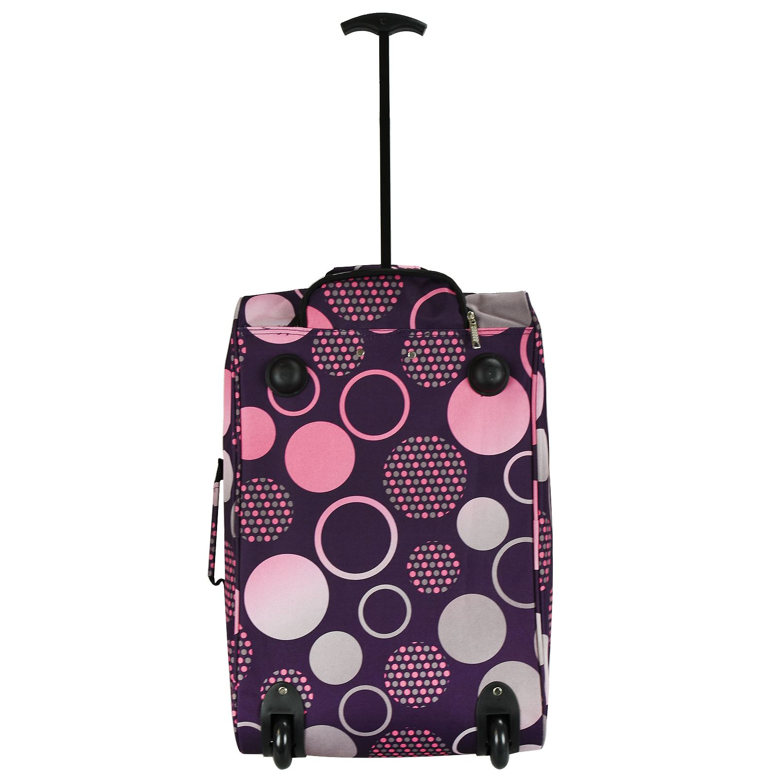 Cabin-Hand-Luggage-Trolley-Bag-Small-Travel-Flight-Suitcase-Holdall-Wheeled thumbnail 26