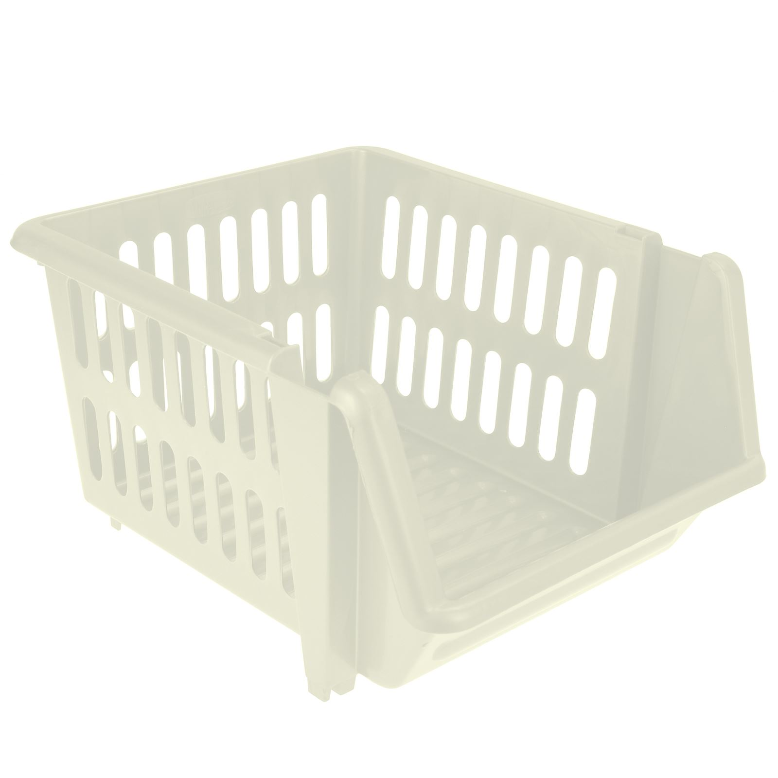 3-Tier-Plastic-Stacking-Basket-Set-Kitchen-Office-Storage-Rack-Stackable-Boxes thumbnail 5