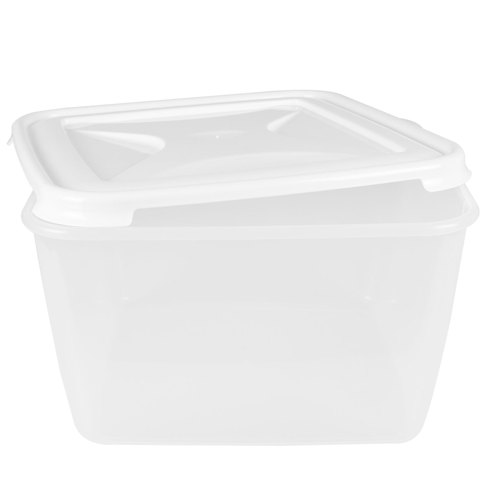 Wham-Plastic-Food-Storage-Shelf-Box-Stackable-Containers-Clear-Secure-Clip-Lid thumbnail 9