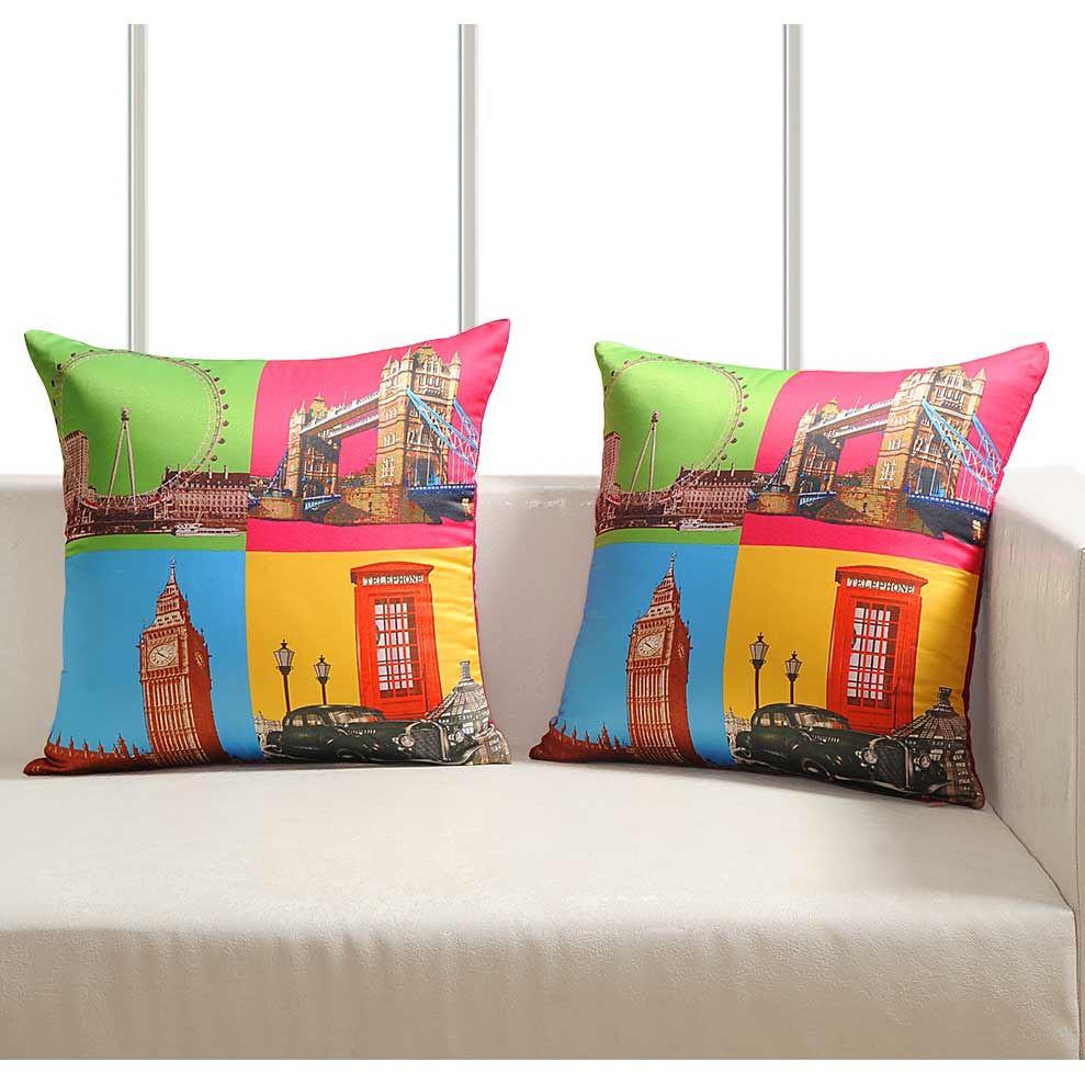 Luxury-Cushion-Covers-Retro-Pop-Art-Design-Digital-Printed-Square-Pillow-Case thumbnail 6