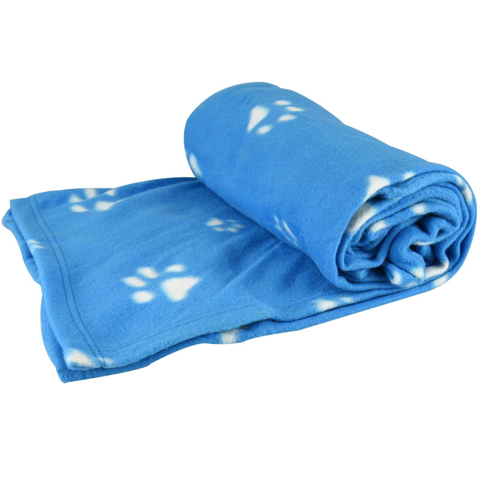 Warm-Pet-Mat-Paw-Print-Cat-Dog-Puppy-Fleece-Soft-Blanket-Bed-Cushion-One-Size thumbnail 10