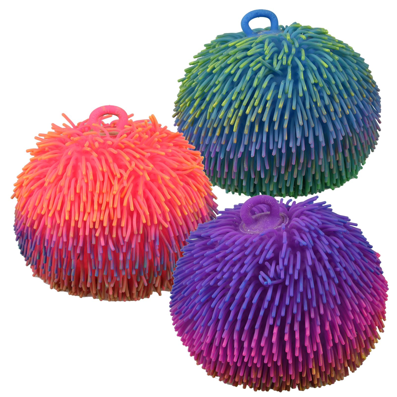 Puffer Ball Furb Squashy Tactile Sensory Stress Relief