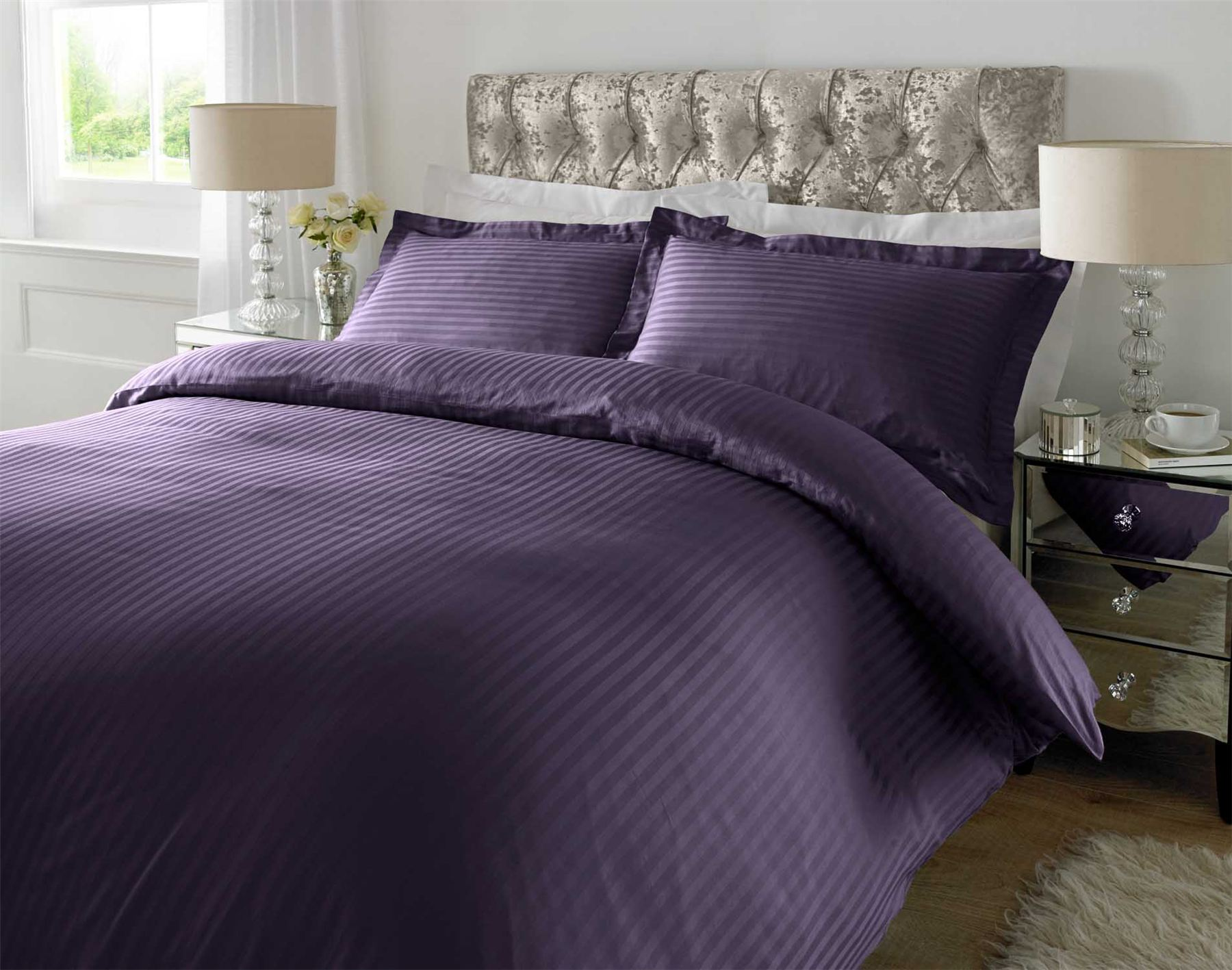 100 Cotton Luxury Duvet Cover Set Pillow Case Bedding