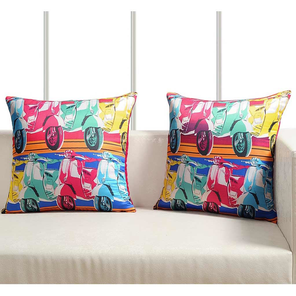 Luxury-Cushion-Covers-Retro-Pop-Art-Design-Digital-Printed-Square-Pillow-Case thumbnail 8