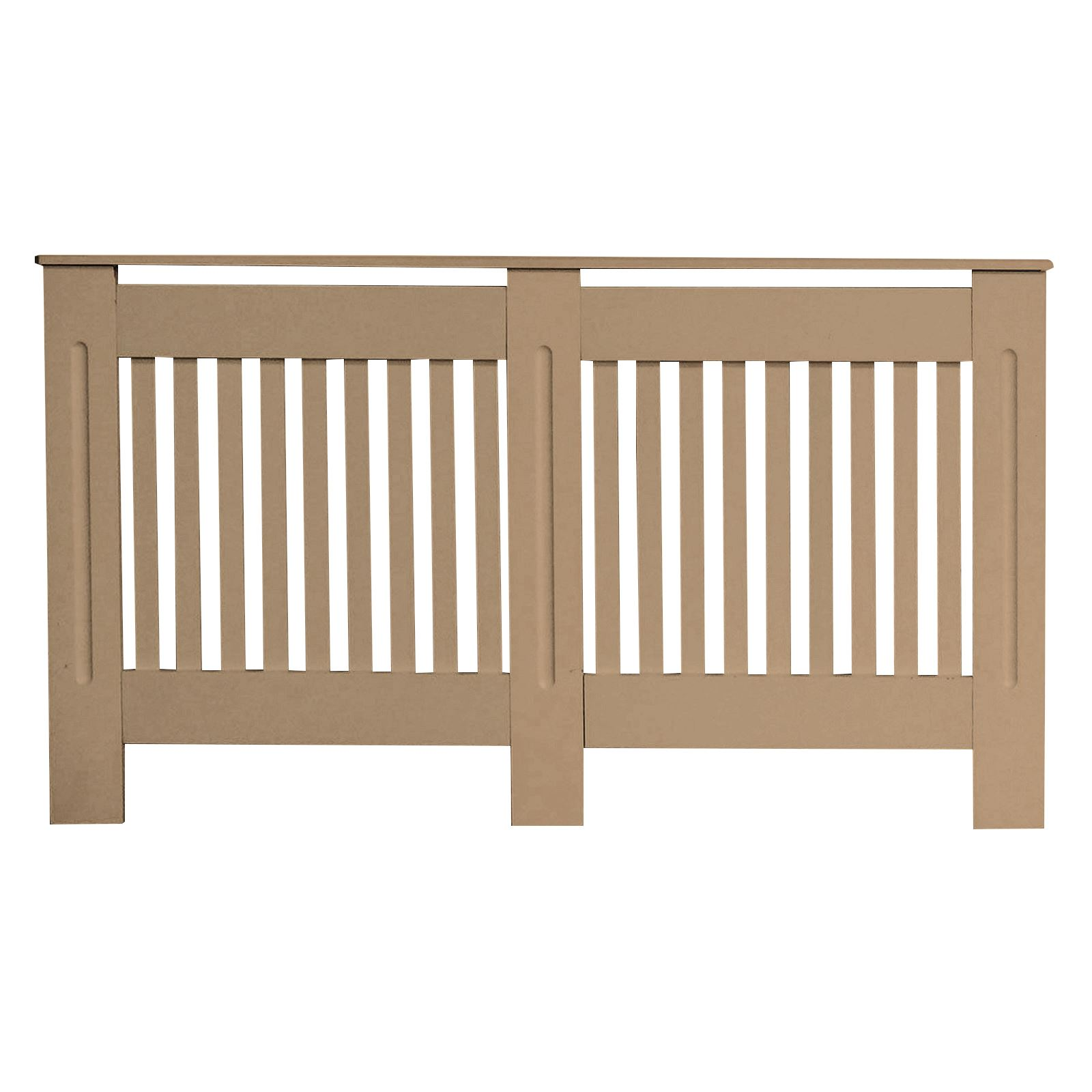 Traditional-Radiator-Cover-Cabinet-Vertical-Slatted-MDF-Wood-Small-Large-Unit thumbnail 12