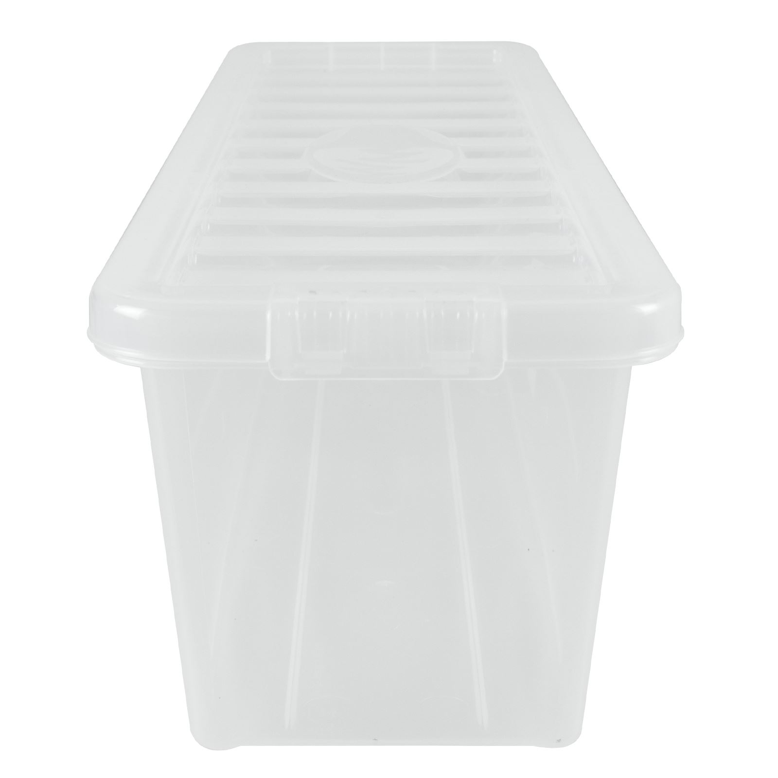 Wham-Crystal-Clear-Plastic-Storage-Box-Secure-Clip-on-Lid-Under-Bed-Space-Save thumbnail 6