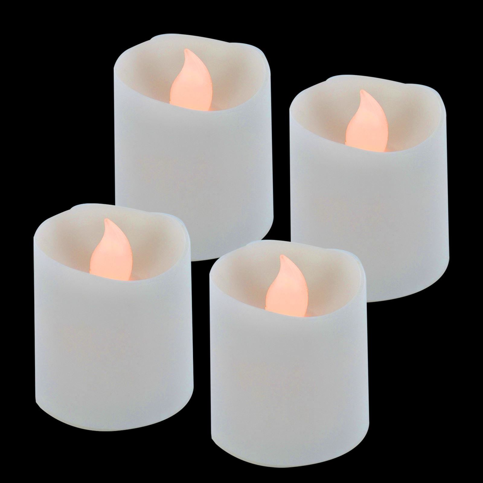 4-X-Led-Flameless-Candles-Parpadeante-bateria-Longlife-Velas-Decoracion