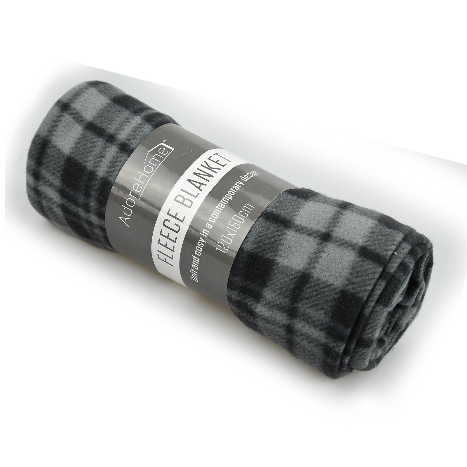 SOFT-Flannel-Pile-Divano-Letto-Coperta-Buttare-alterno-Design-Lusso-grandi-Warm miniatura 7
