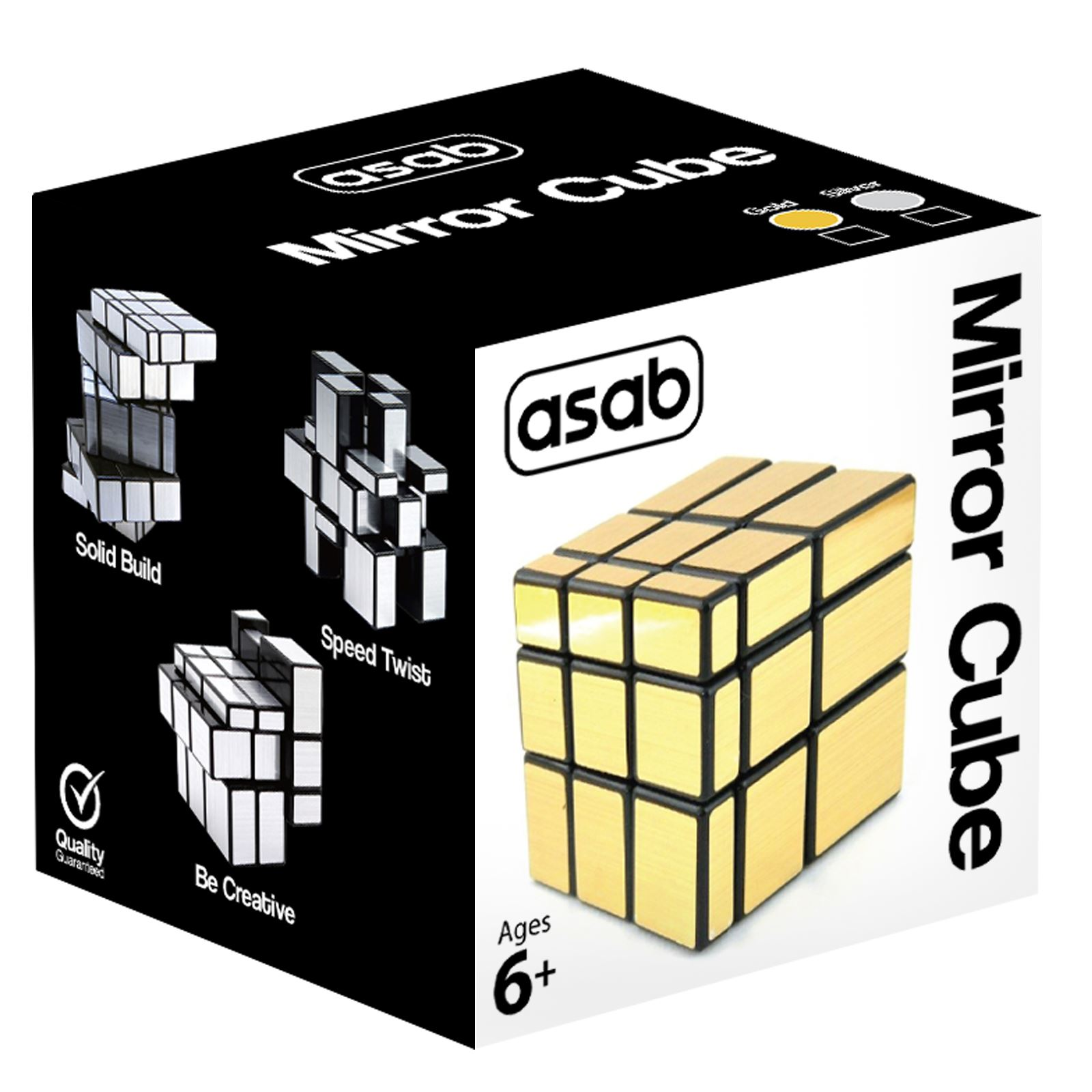 3x3-Miroir-Cube-Puzzle-Mind-Game-Brain-Teasers-Magic-scies-sauteuses-enfants-jouet-adulte-cadeau miniature 6