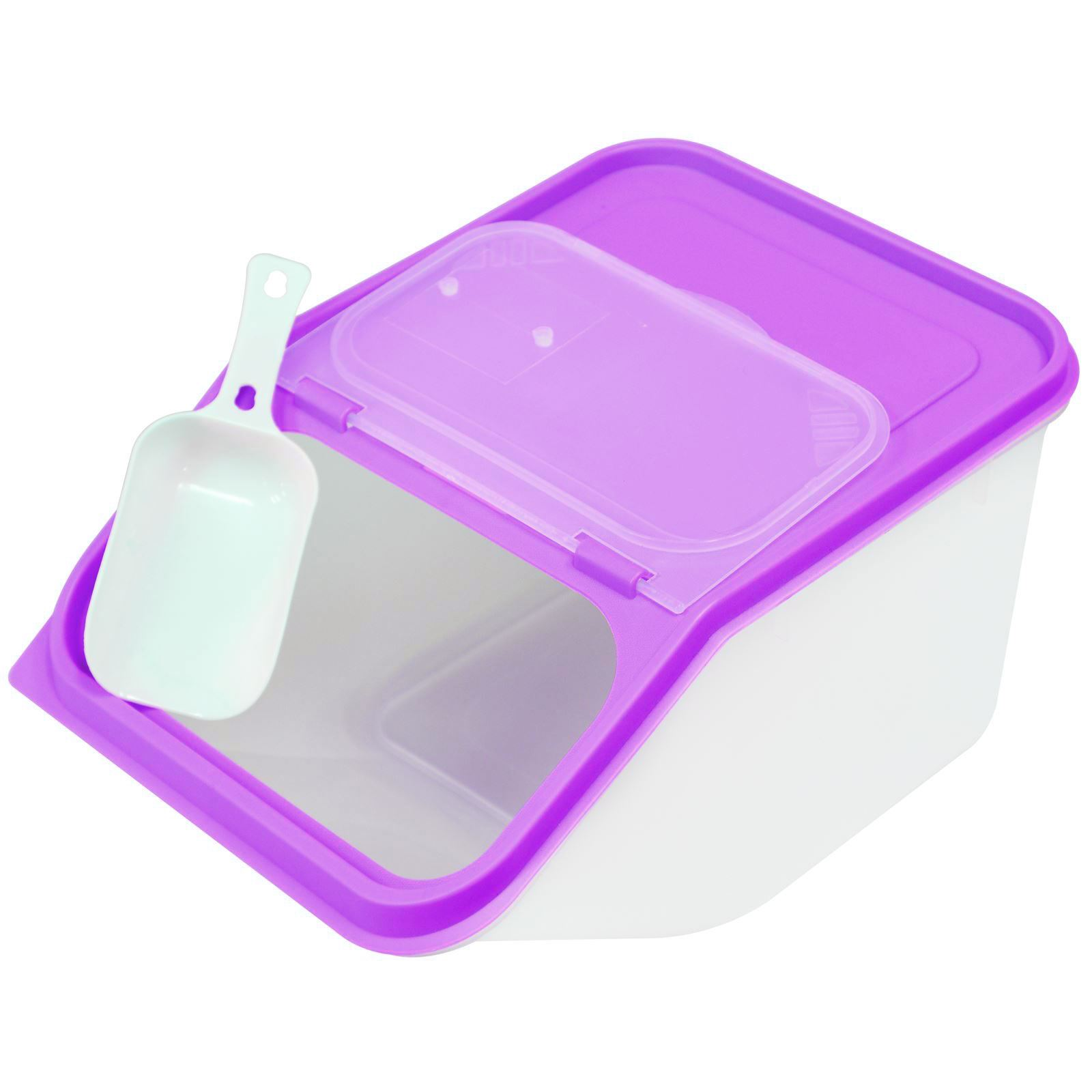 Large Plastic Dog Food Container