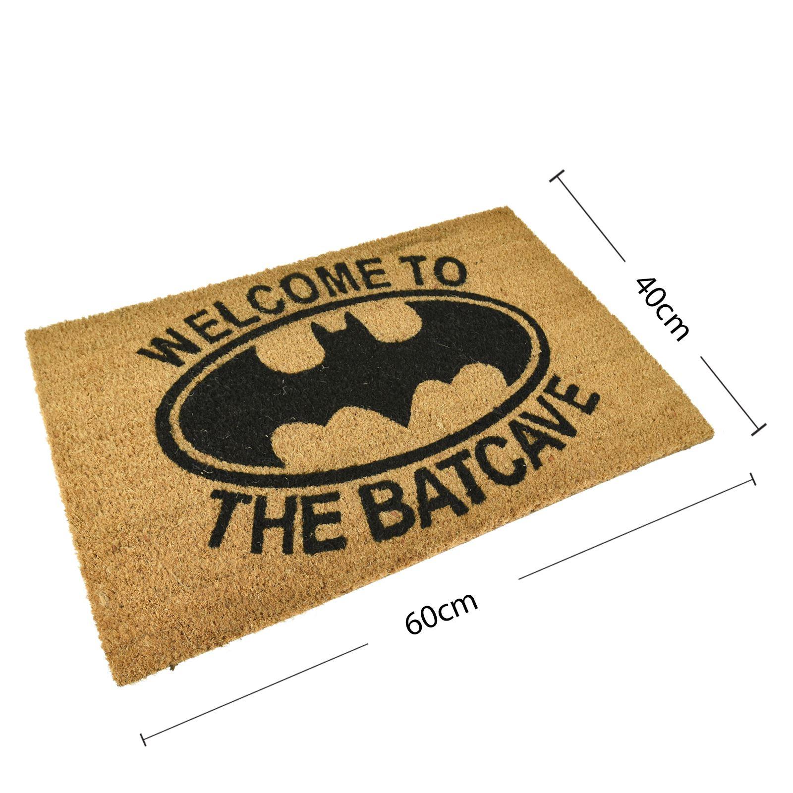 Plain-Non-Slip-Door-Mat-Tough-Natural-Coir-PVC-Back-Welcome-Doormat-40-x-60cm miniatura 7