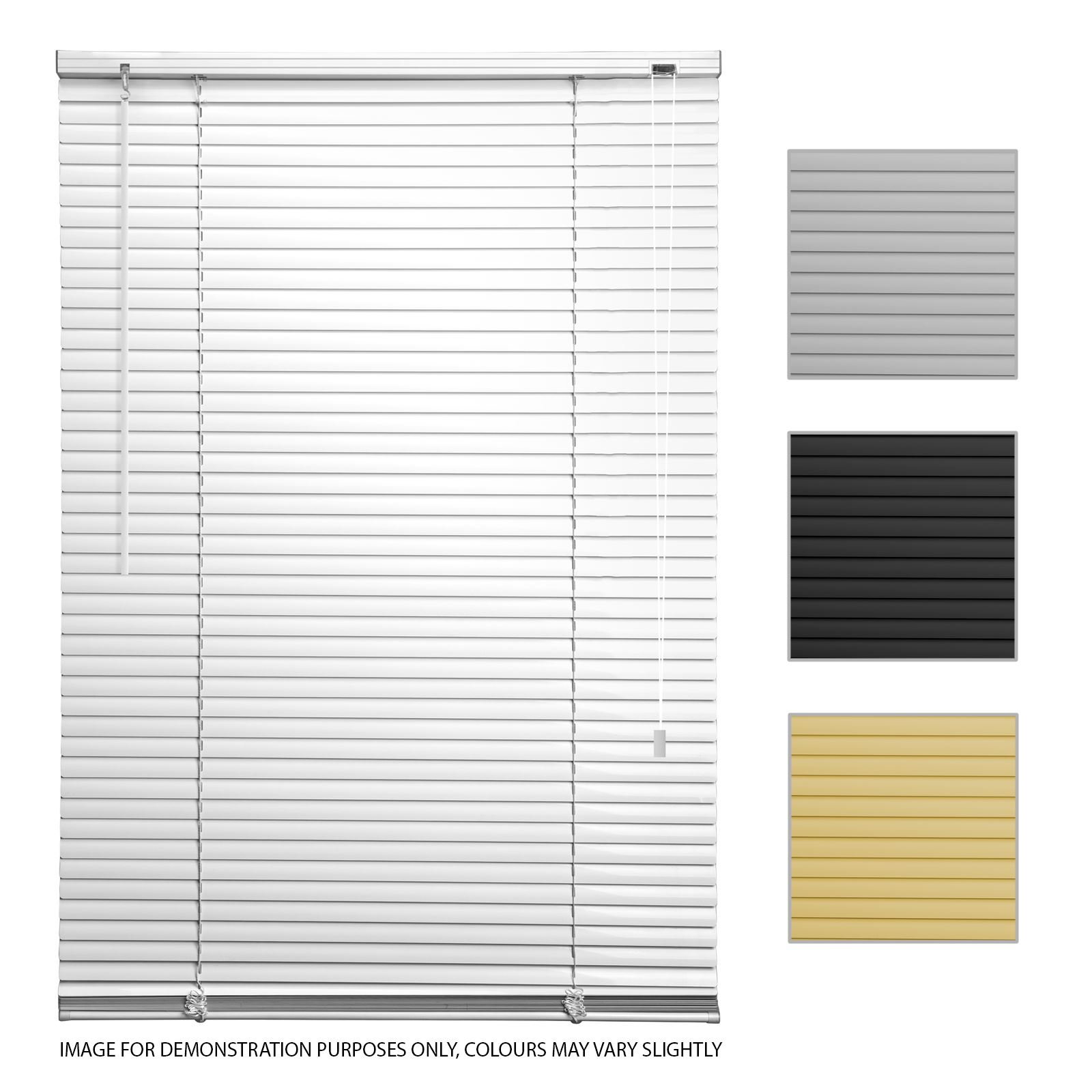 Pvc Venetian Blinds Easy Fit Trimable Home Office Window