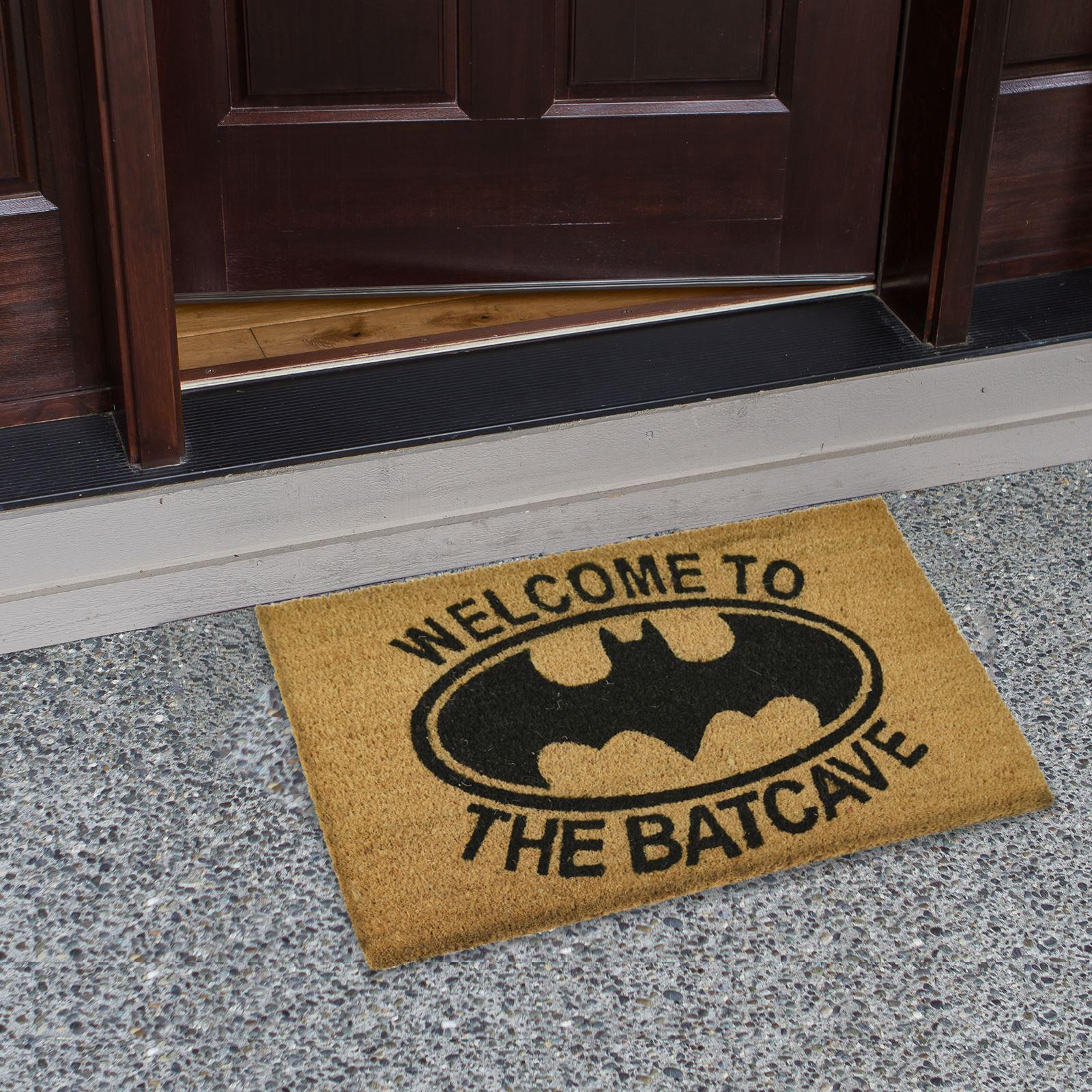 Plain-Non-Slip-Door-Mat-Tough-Natural-Coir-PVC-Back-Welcome-Doormat-40-x-60cm miniatura 4