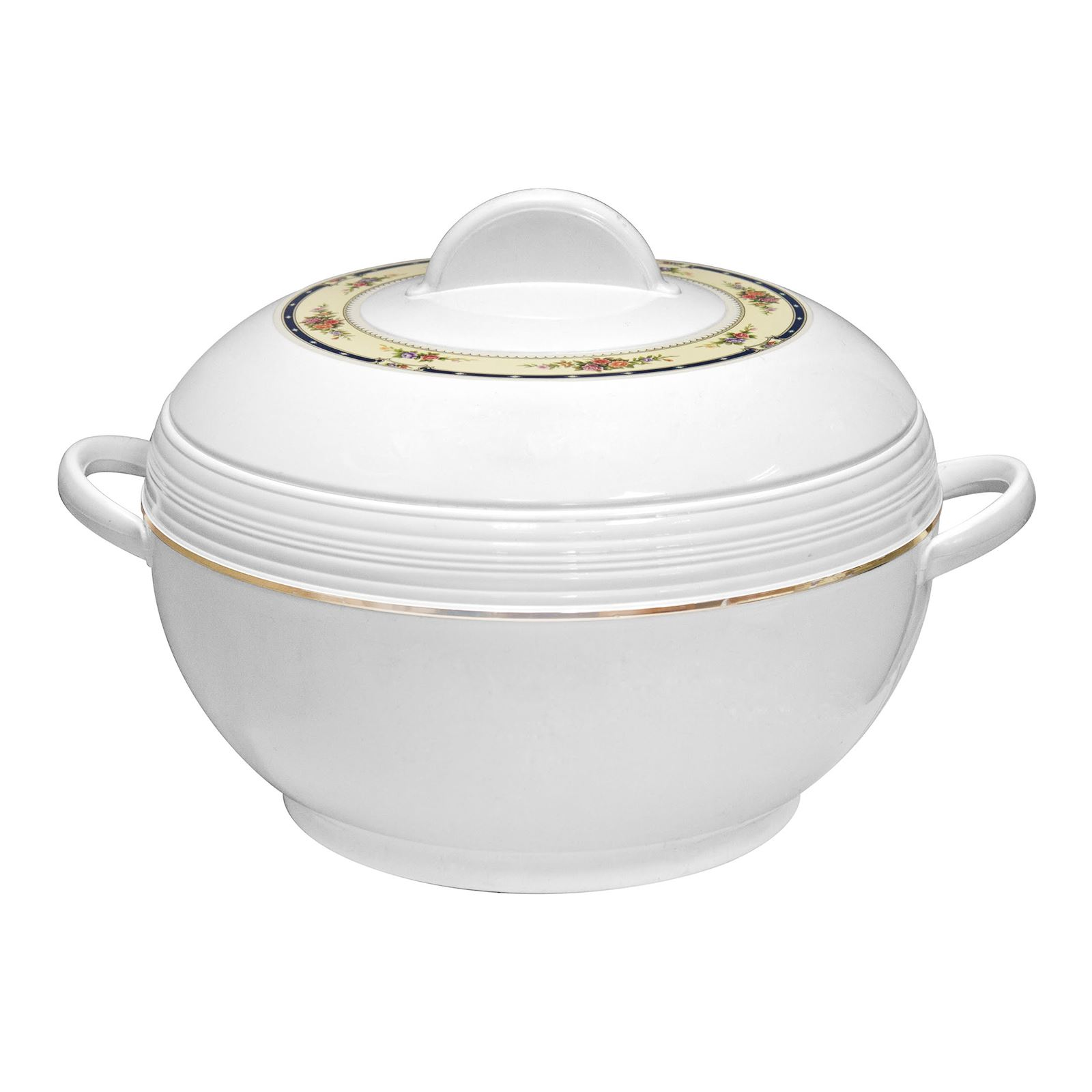 Ambiente 3pc Hot Pot Set Insulated Serving Dishes Round