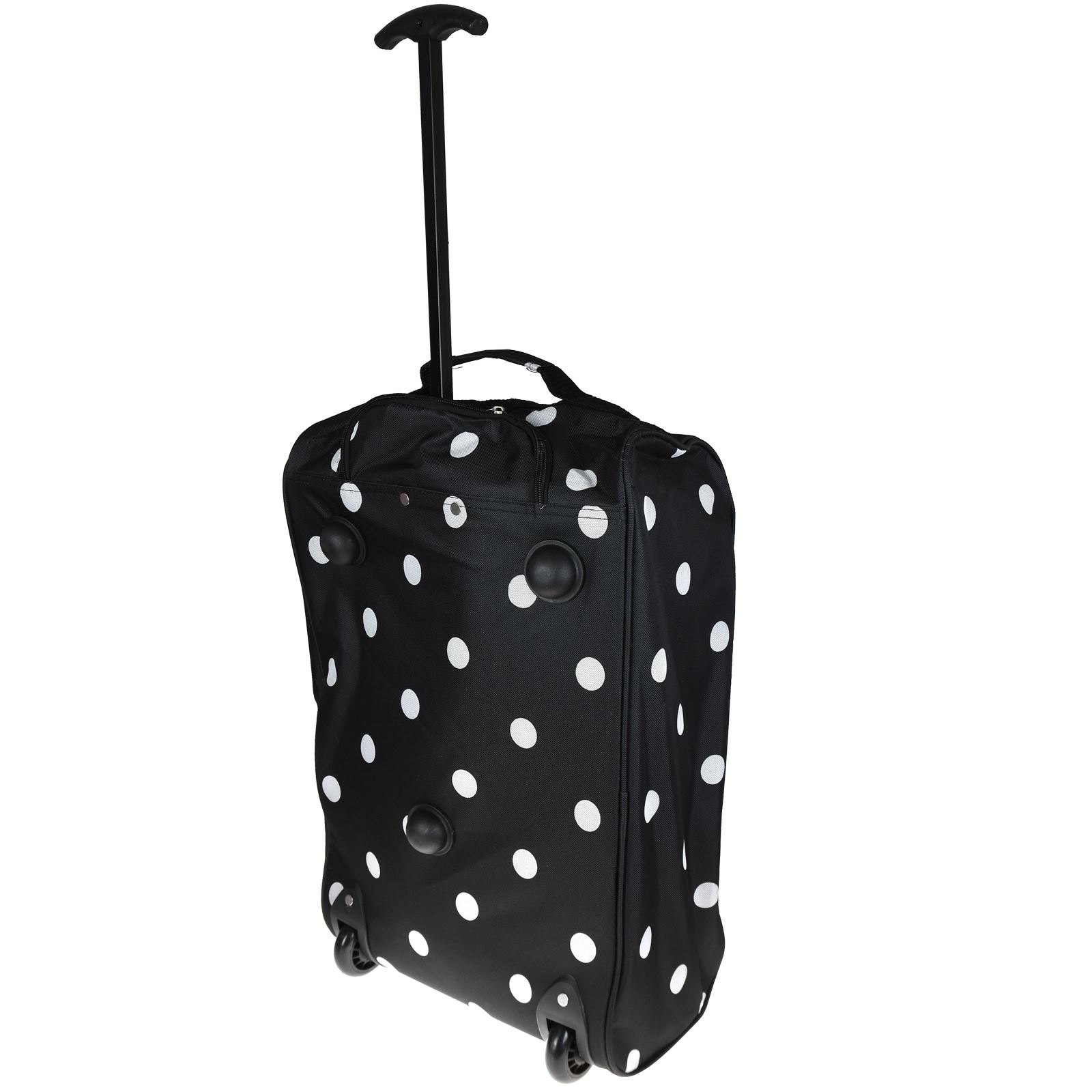 Cabin-Hand-Luggage-Trolley-Bag-Small-Travel-Flight-Suitcase-Holdall-Wheeled thumbnail 4