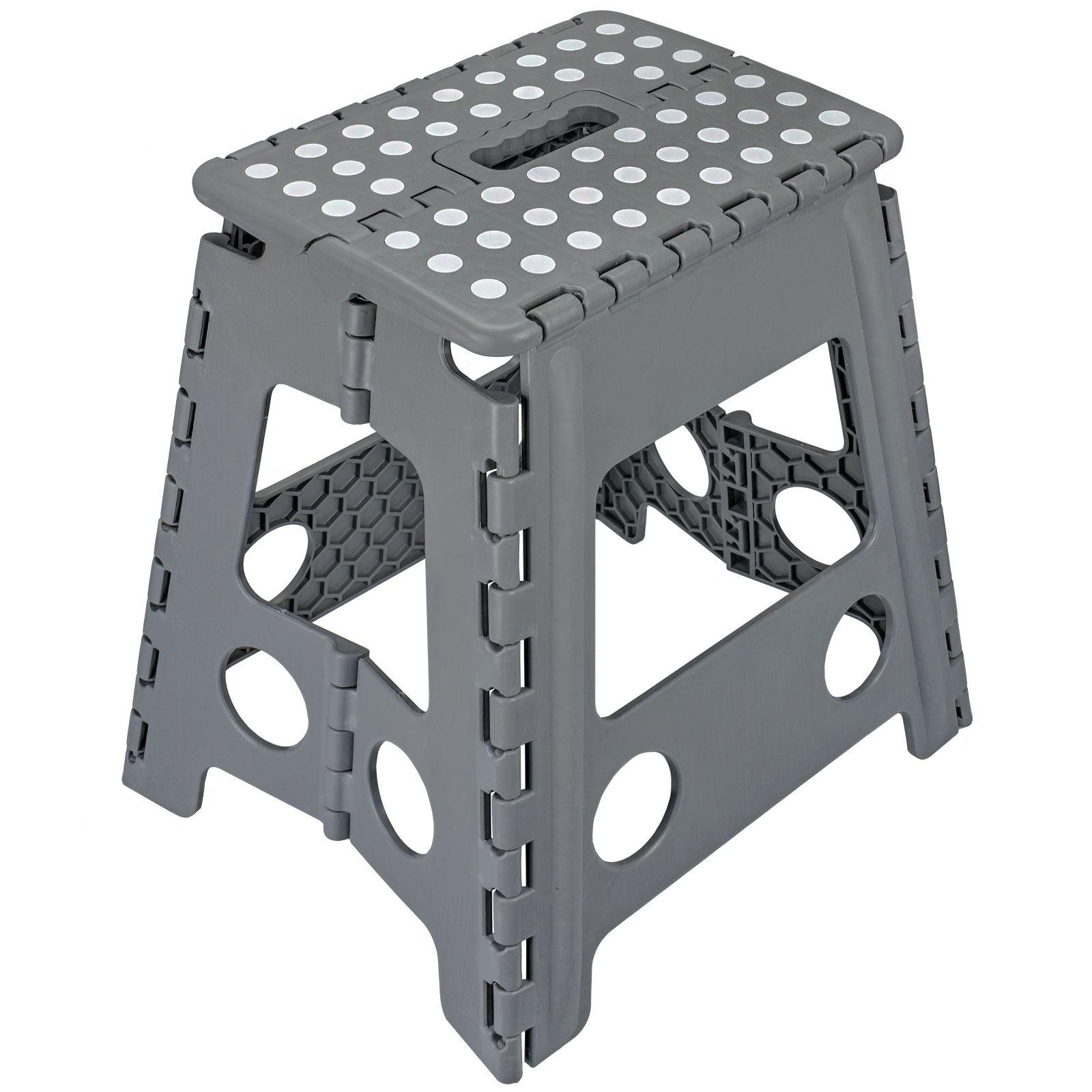 Folding-Foot-Step-Stool-Multi-Purpose-Plastic-Foldable-  sc 1 st  eBay & Folding Foot Step Stool Multi Purpose Plastic Foldable Easy ... islam-shia.org