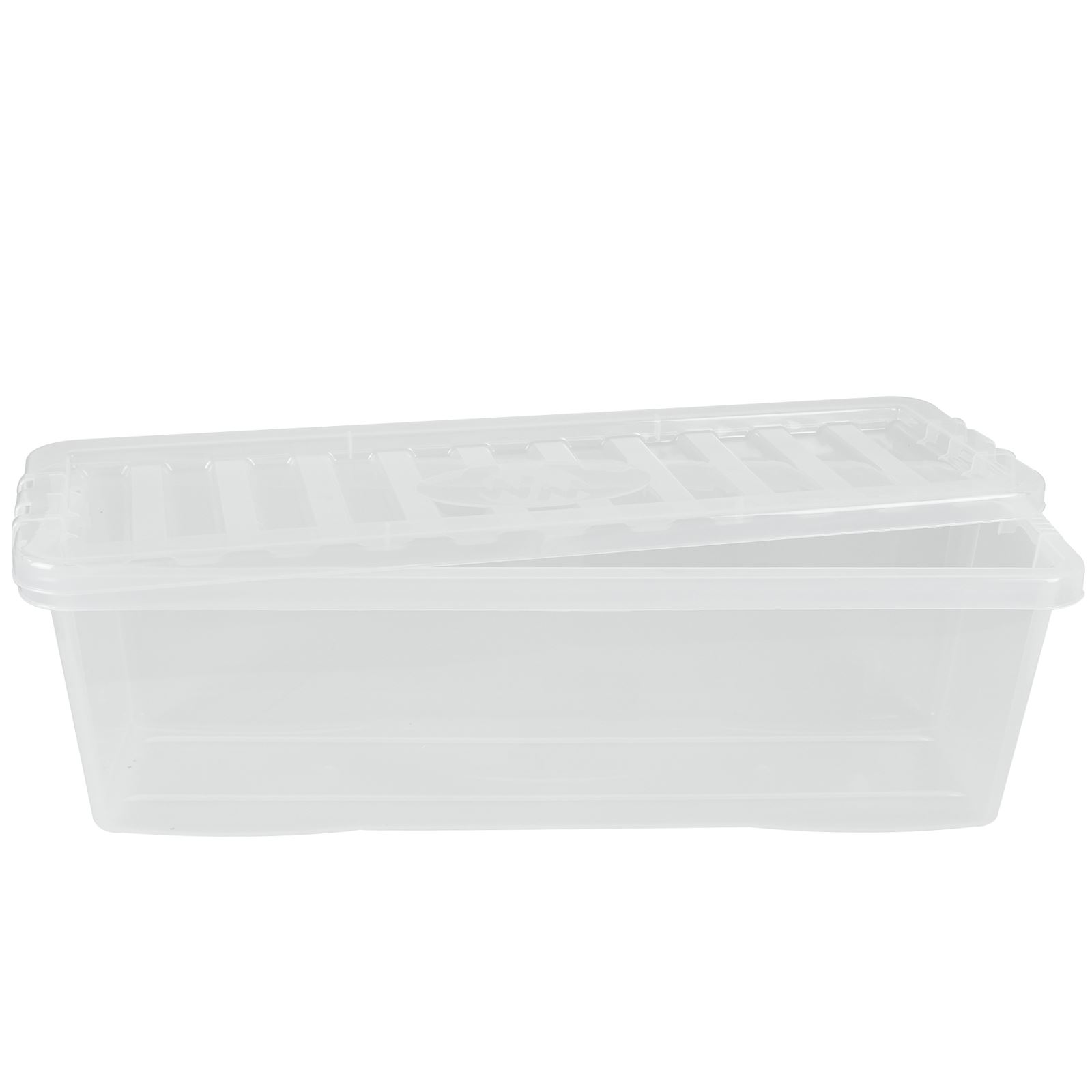 Wham-Crystal-Clear-Plastic-Storage-Box-Secure-Clip-on-Lid-Under-Bed-Space-Save thumbnail 4