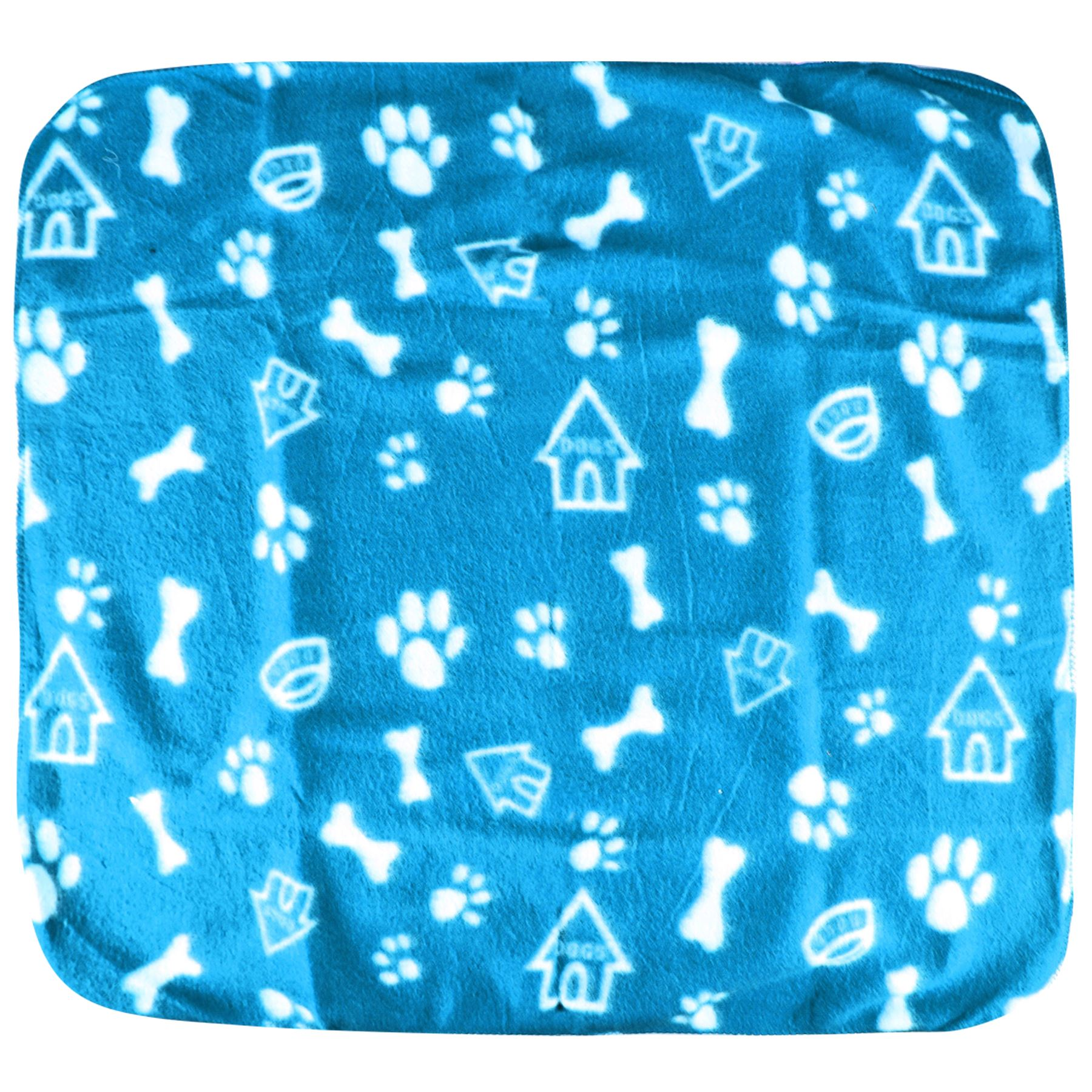 Pet-Blanket-Dogs-amp-Puppy-Cat-Paw-Print-Soft-Warm-Fleece-Bed-Travel-Basket-Car thumbnail 22